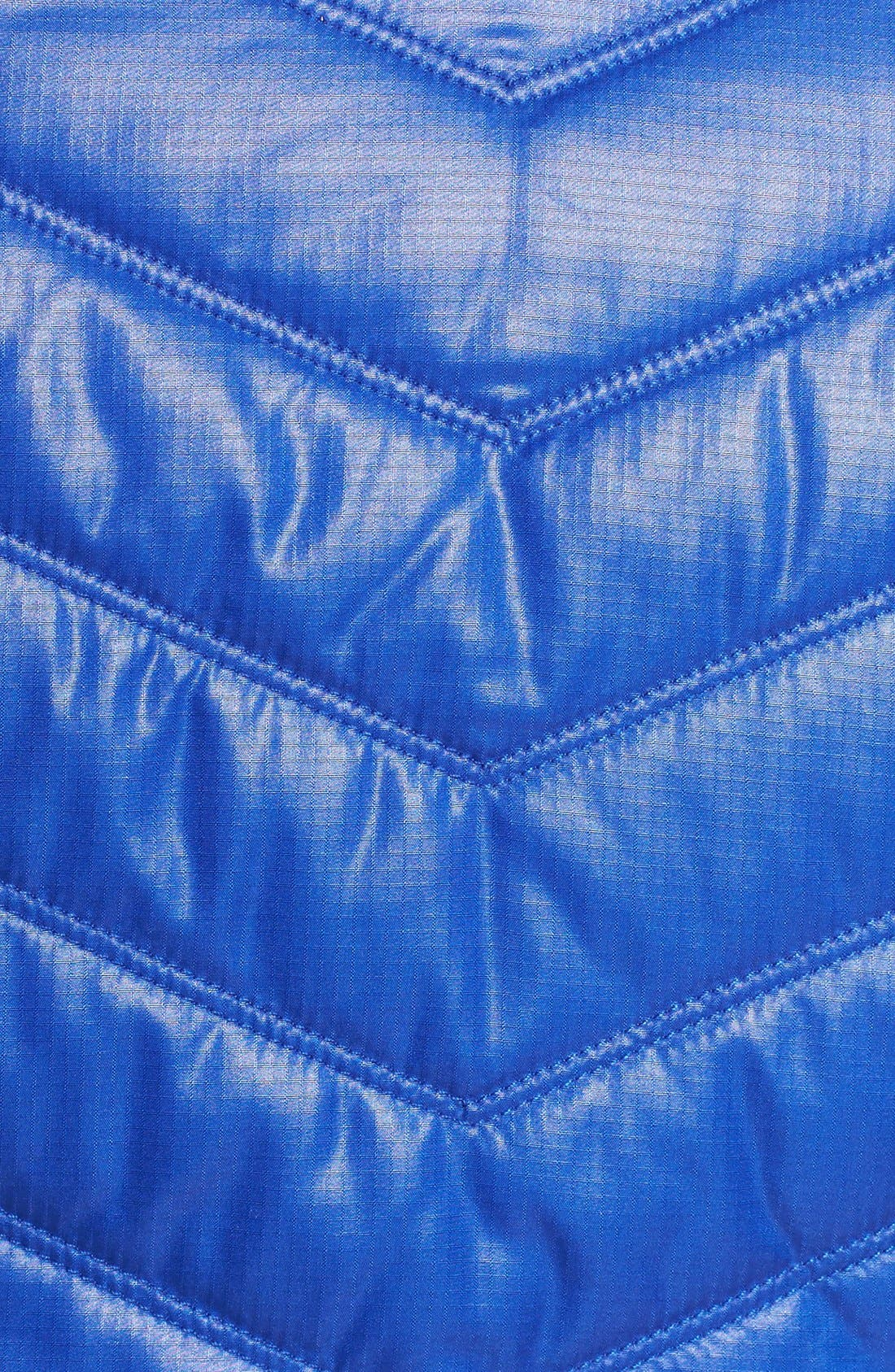 Zelfusion Reflective Quilted Jacket,                             Alternate thumbnail 18, color,