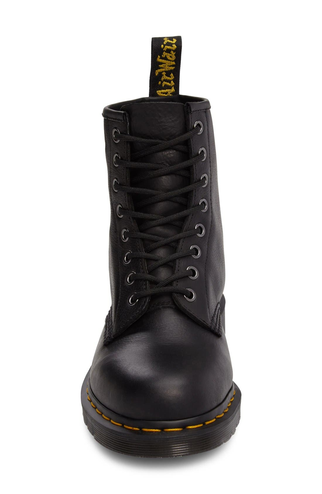 '1460' Plain Toe Boot,                             Alternate thumbnail 7, color,                             001