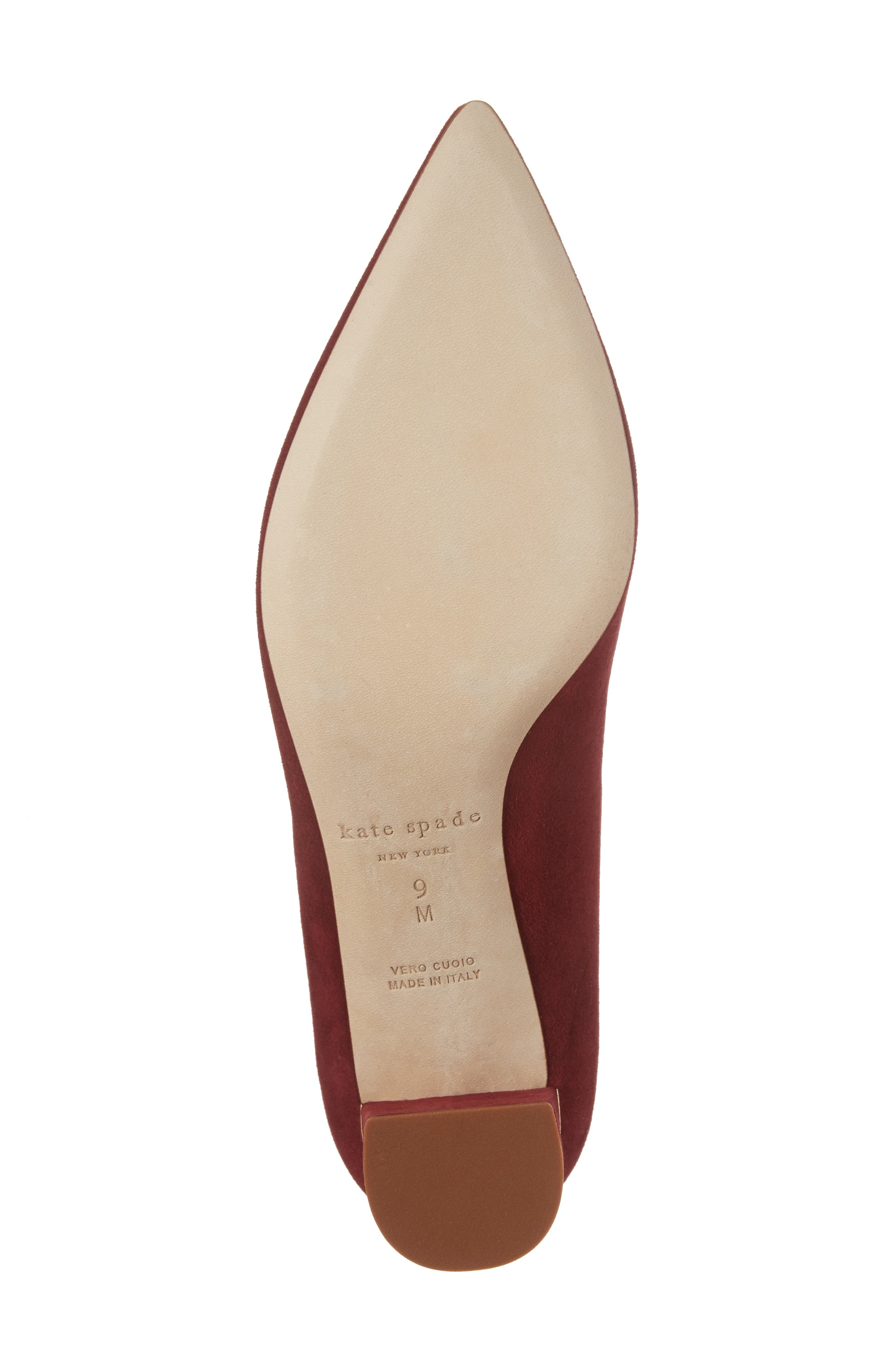 'milan too' pointy toe pump,                             Alternate thumbnail 6, color,                             620