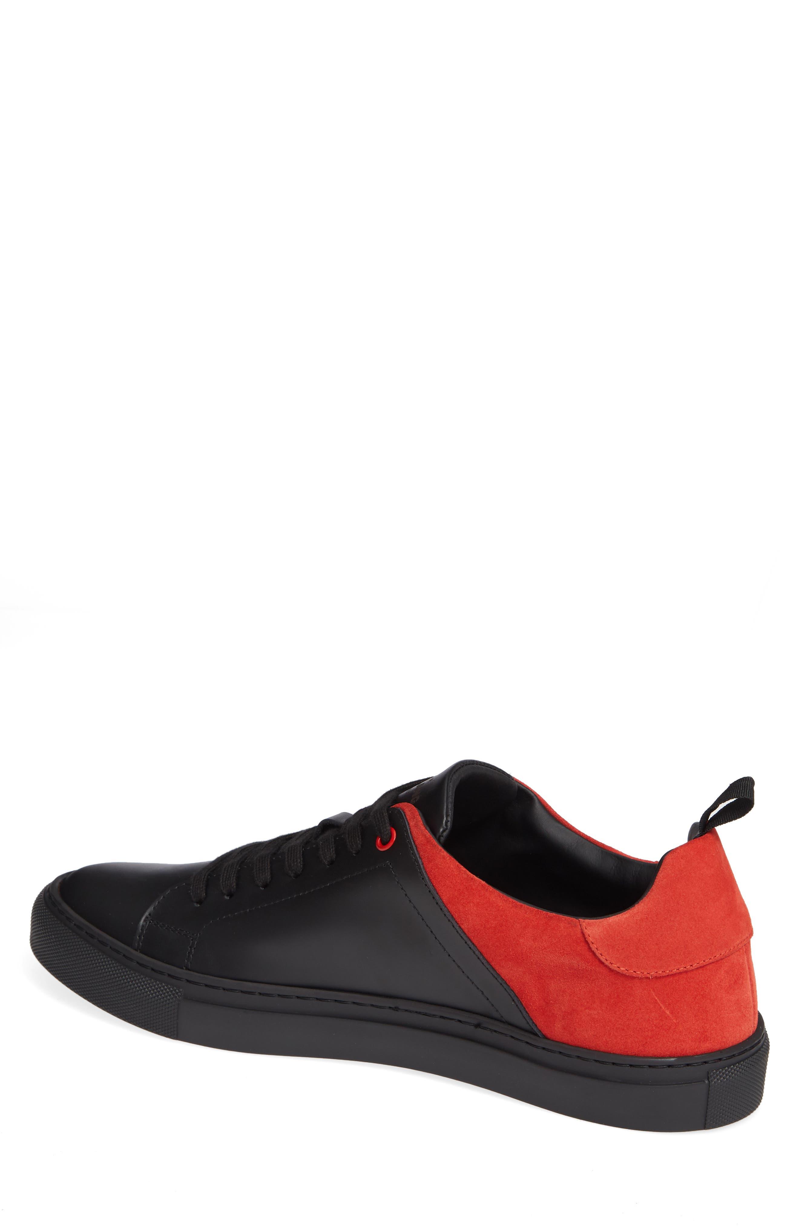 Rome Sneaker,                             Alternate thumbnail 2, color,                             BLACK