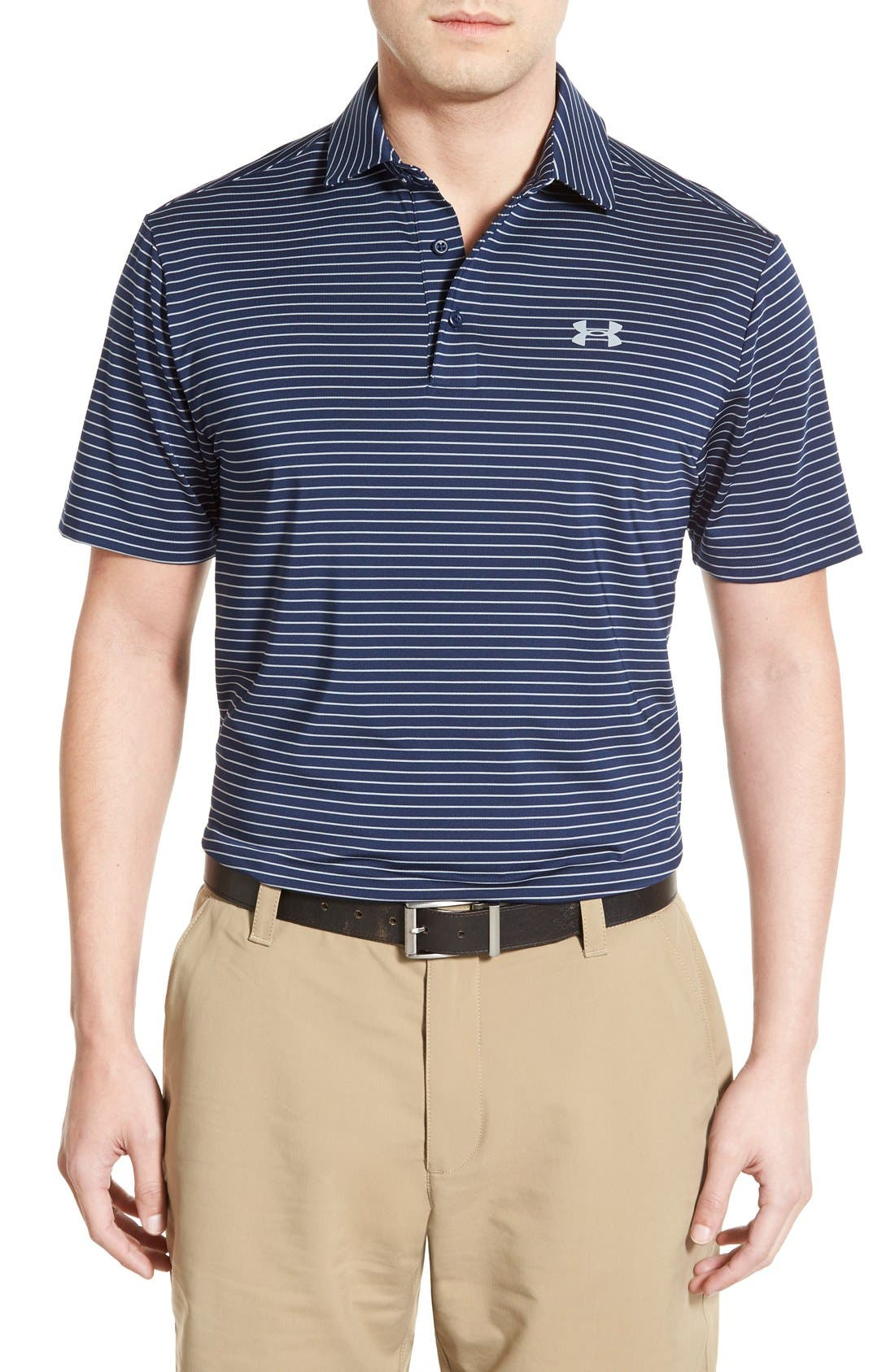 'Playoff' Loose Fit Short Sleeve Polo,                             Main thumbnail 30, color,
