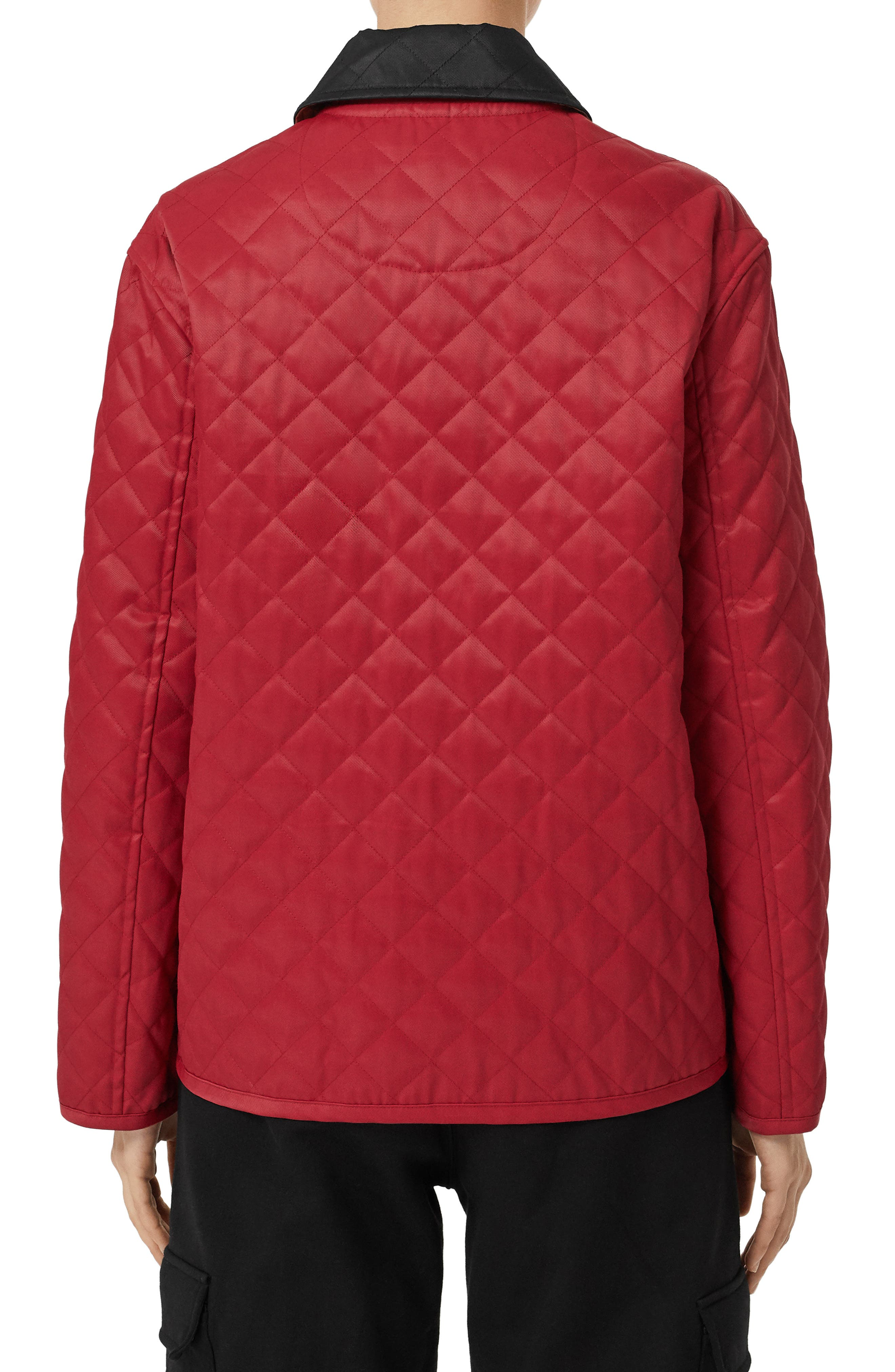 Dranefeld Quilted Jacket,                             Alternate thumbnail 2, color,                             RED