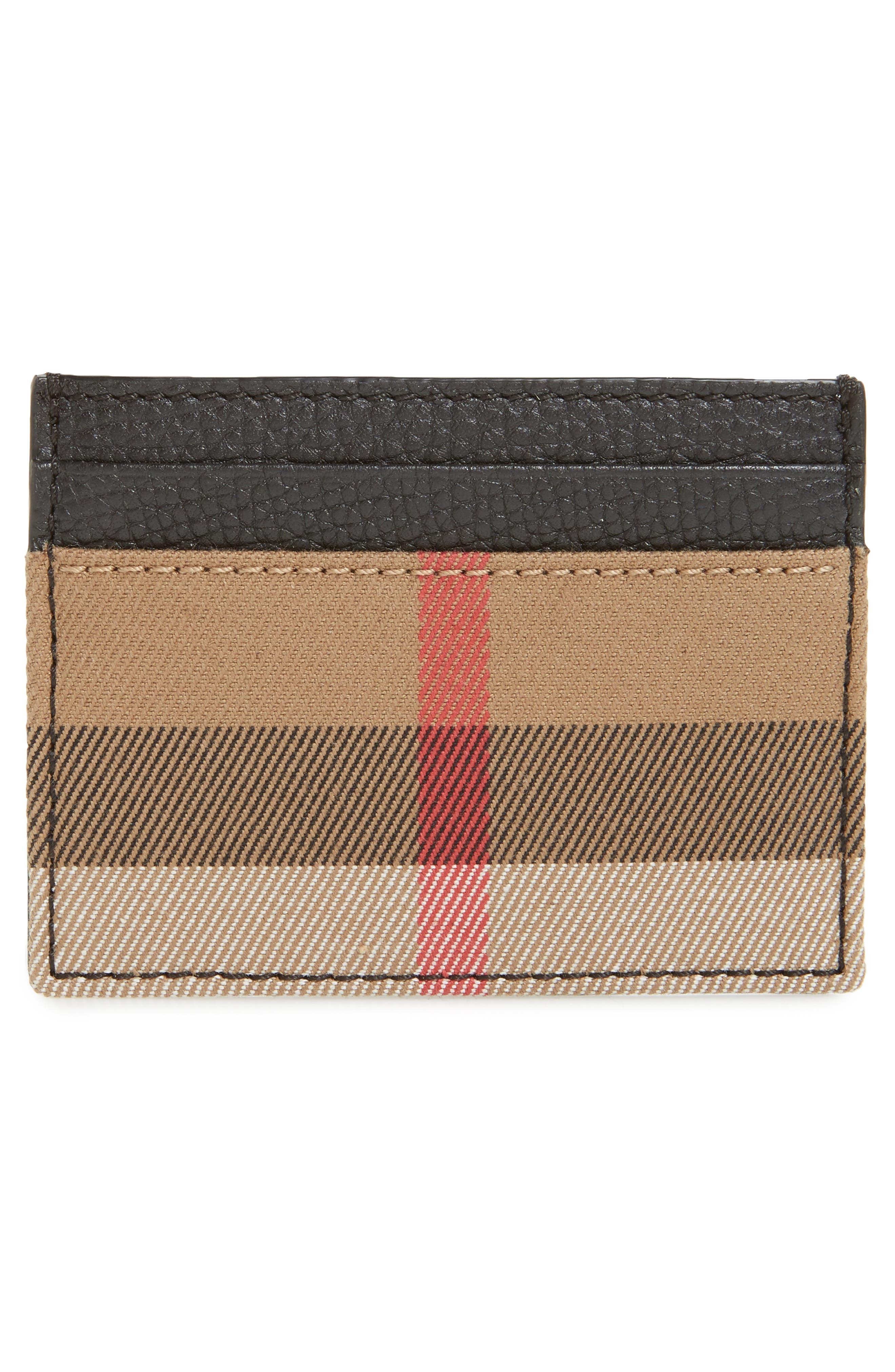 Sandon Leather Card Case,                             Alternate thumbnail 2, color,                             001