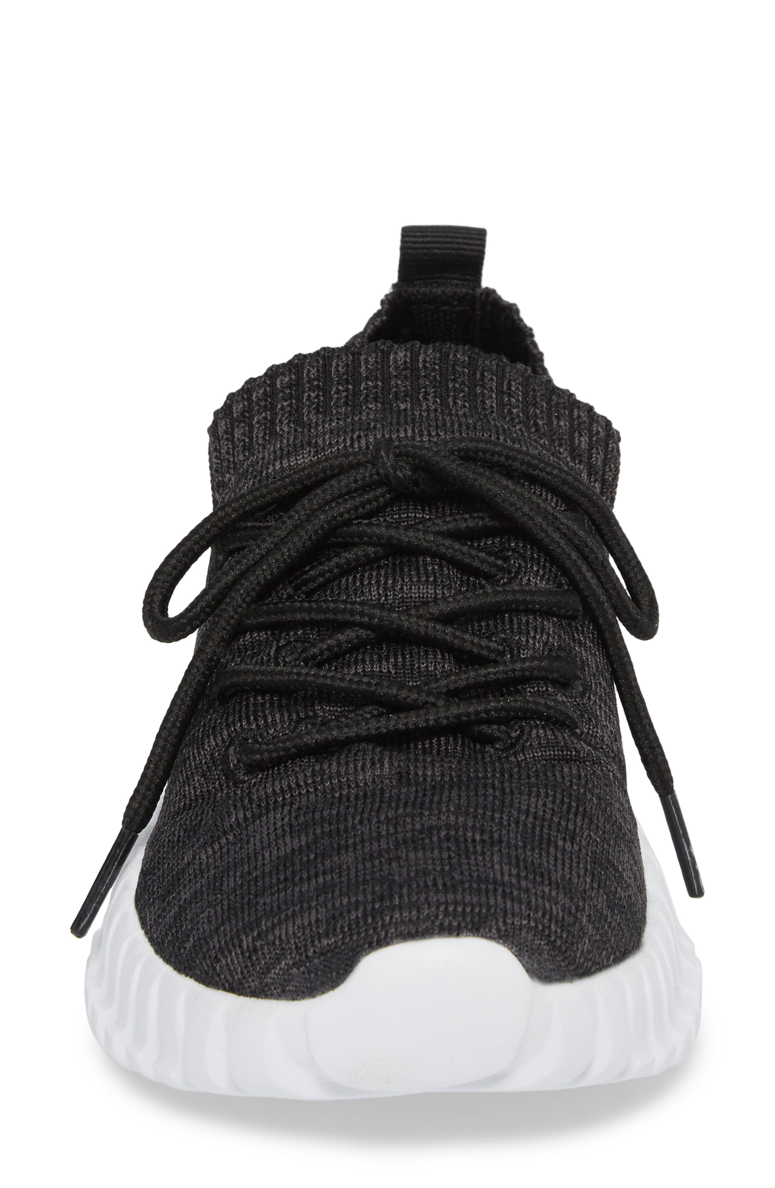 Gravity Sneaker,                             Alternate thumbnail 4, color,                             BLACK GREY