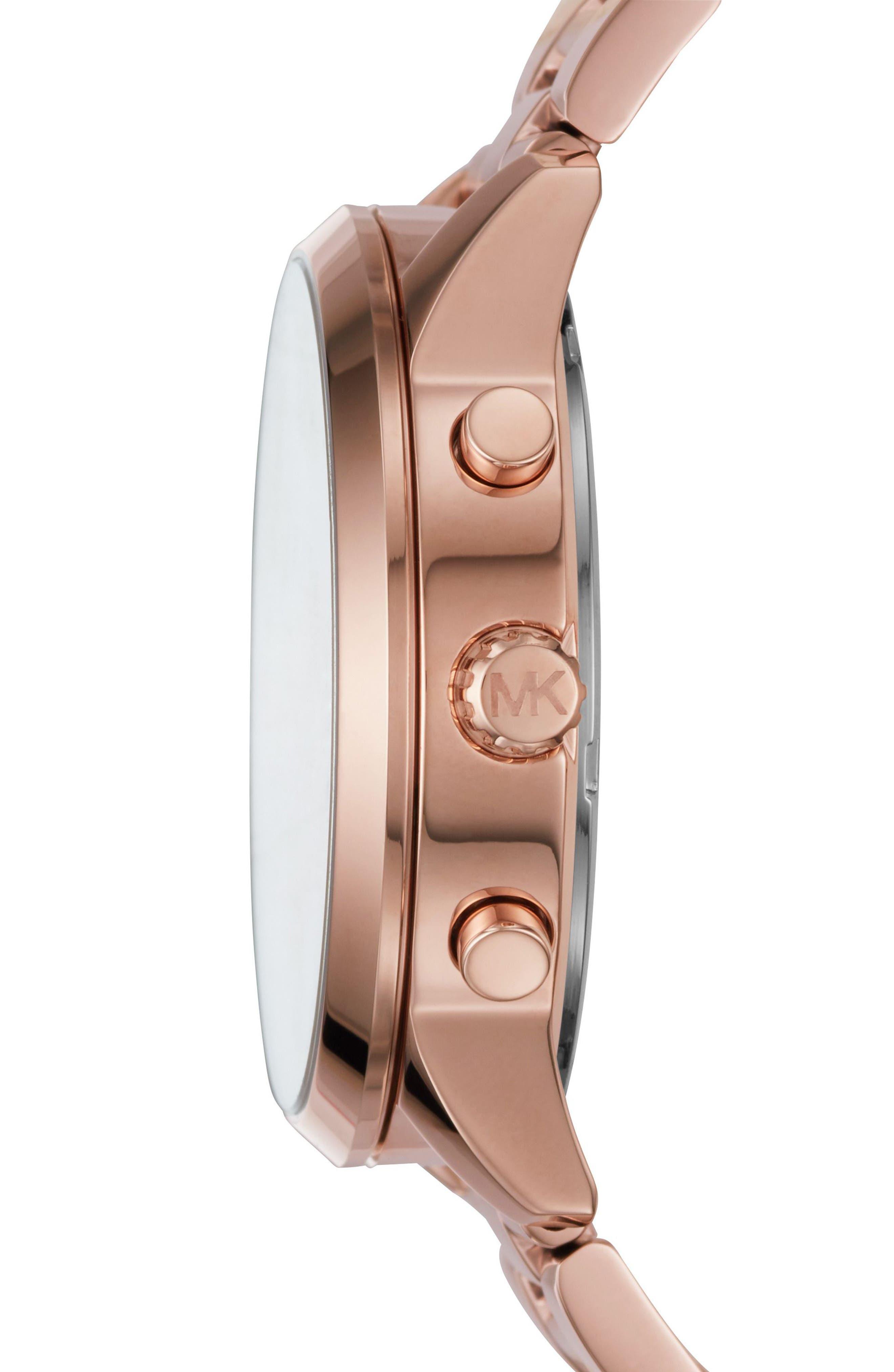 Slater Chronograph Bracelet Watch, 40mm,                             Alternate thumbnail 10, color,
