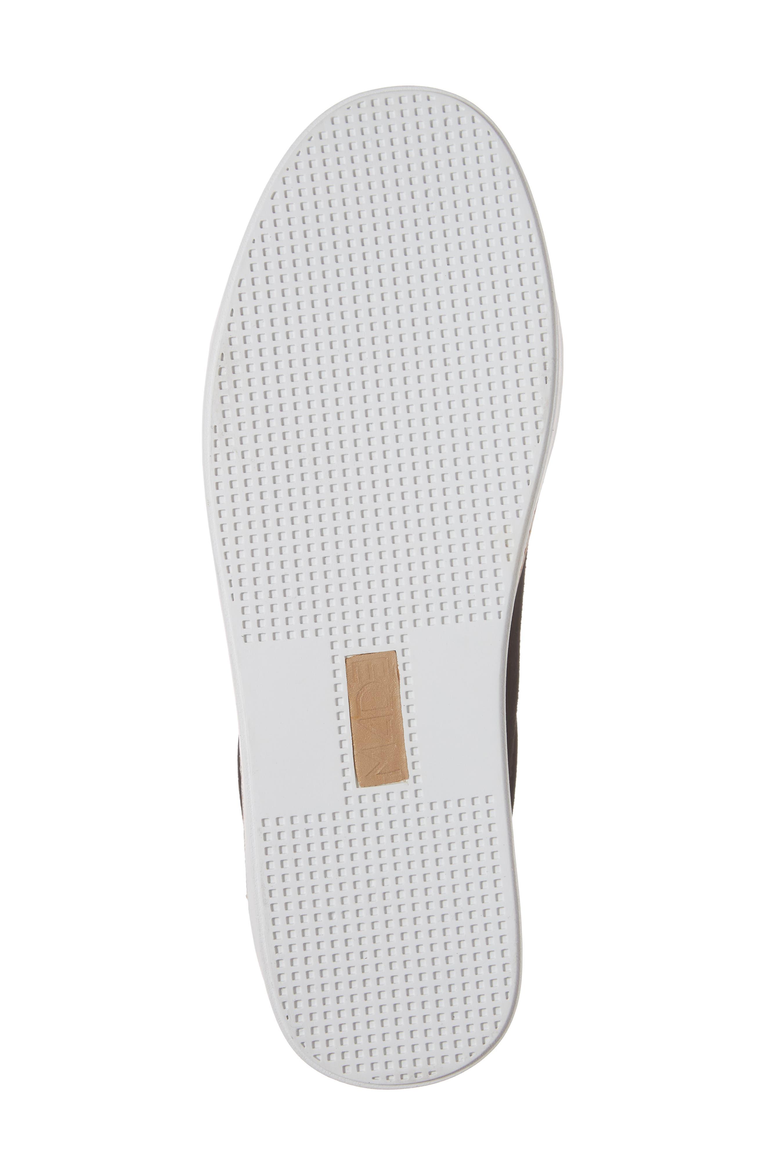 M4D3,                             Super Slip-On Sneaker,                             Alternate thumbnail 6, color,                             BLACK GLITTER LEATHER