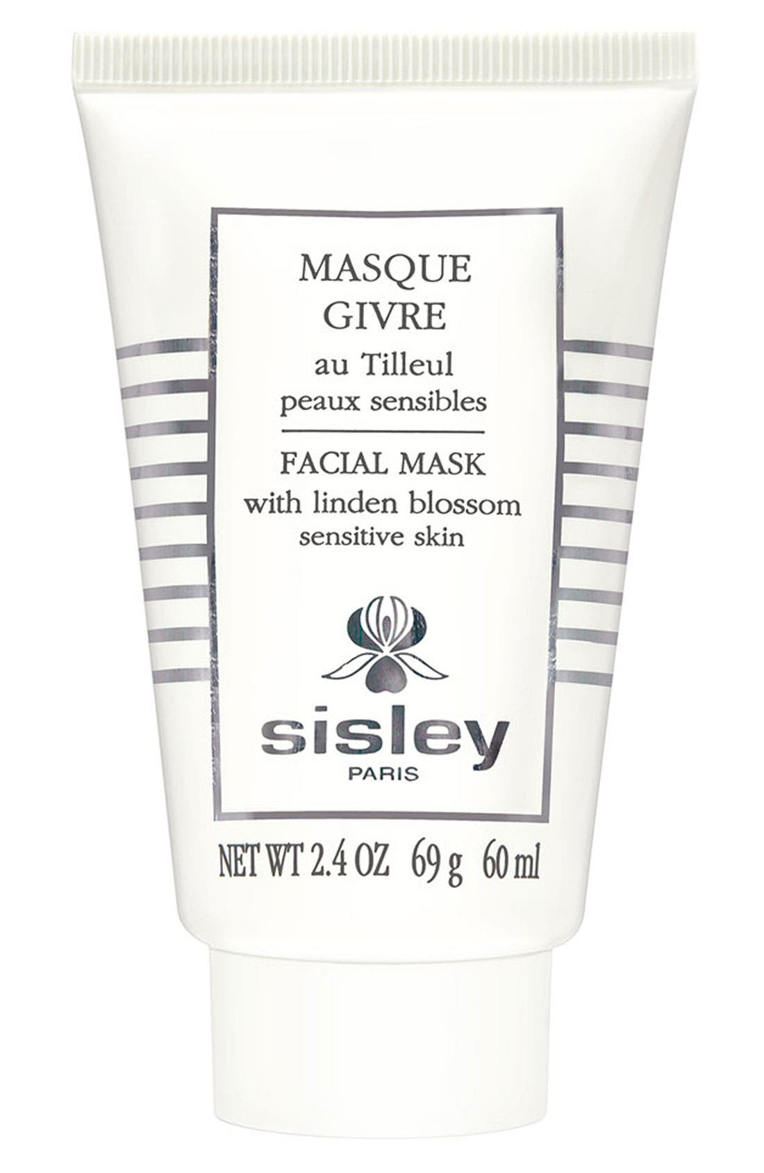 Facial Mask with Linden Blossom,                             Main thumbnail 1, color,                             NONE