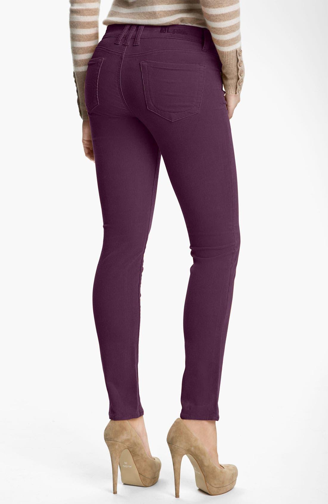 'Diana' Stretch Corduroy Skinny Pants,                             Alternate thumbnail 89, color,