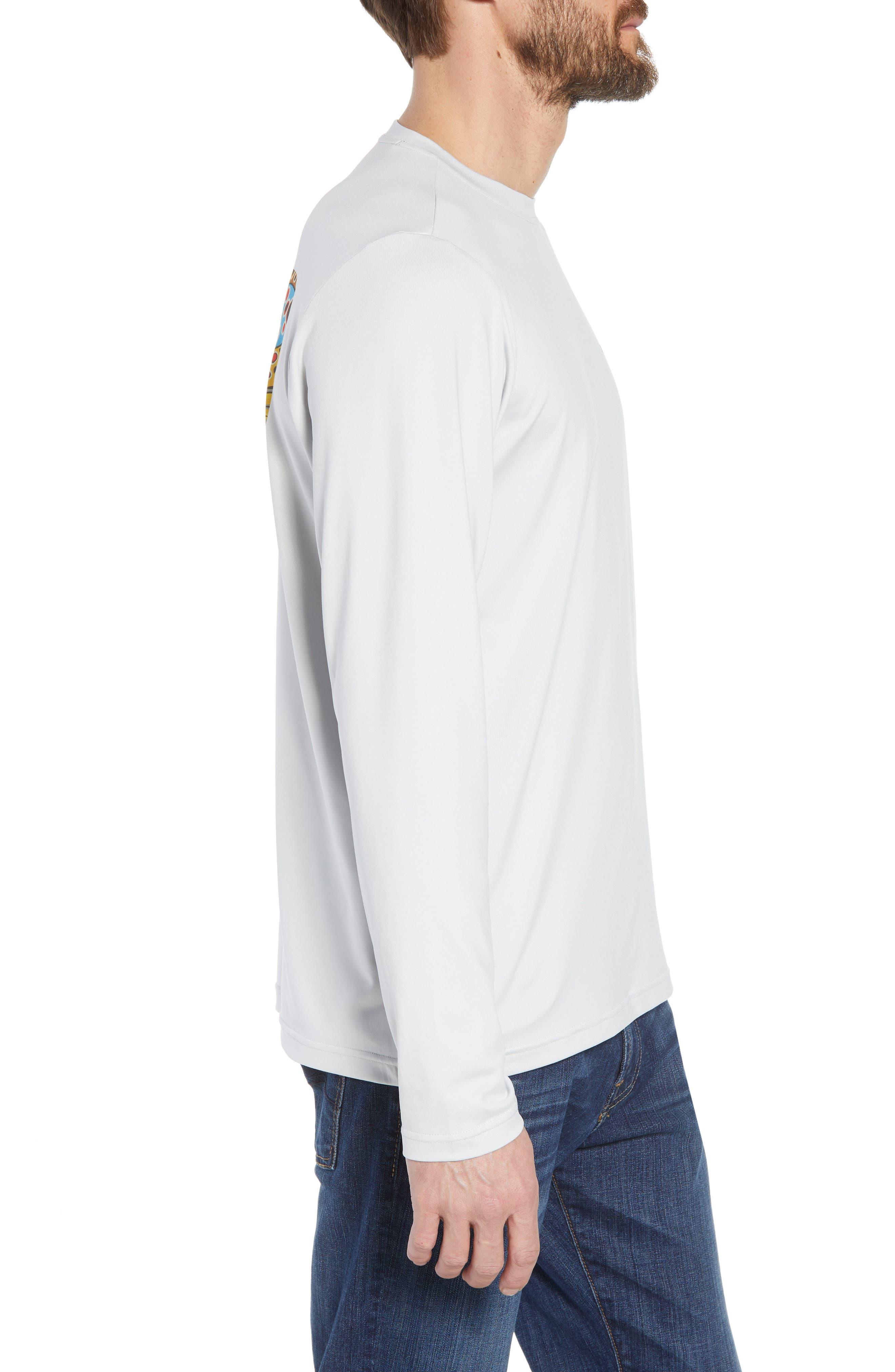 Tech Fish Graphic Long Sleeve T-Shirt,                             Alternate thumbnail 9, color,