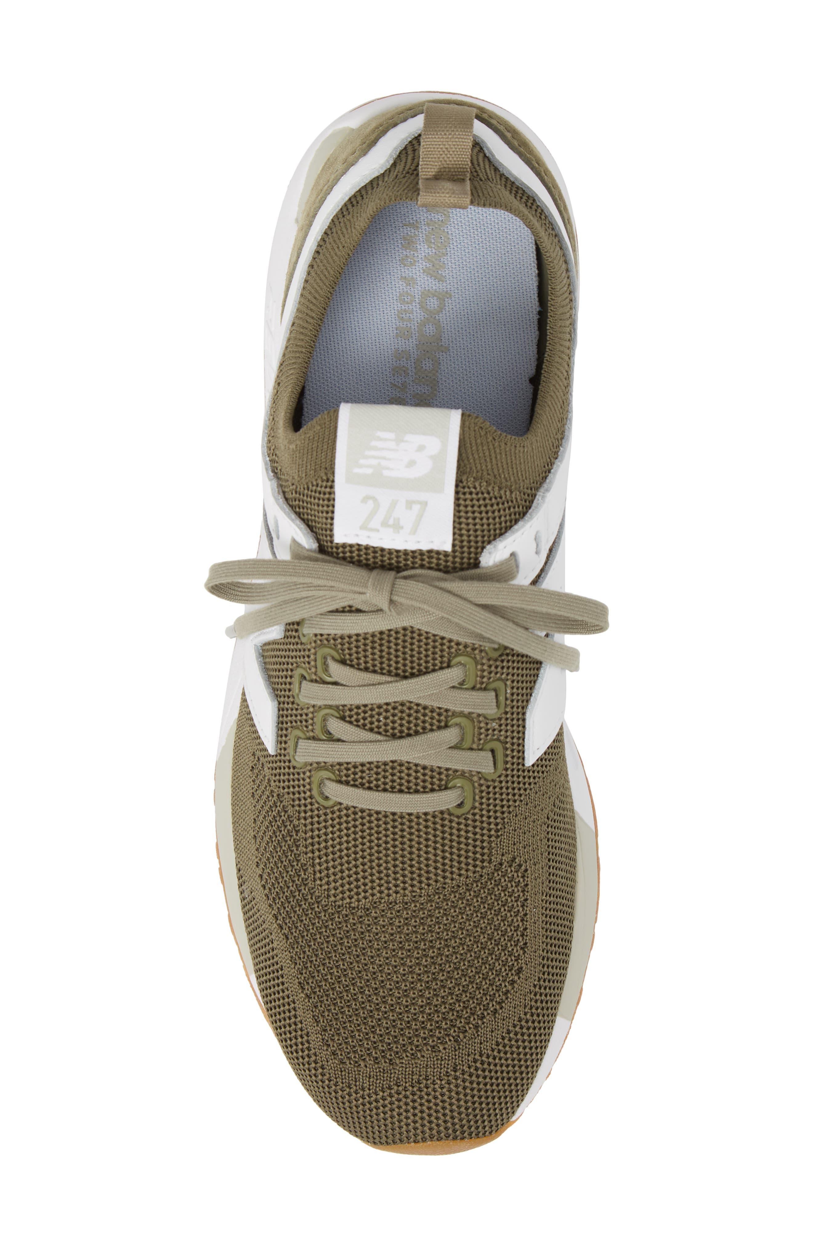247 Decon Sneaker,                             Alternate thumbnail 5, color,                             COVERT GREEN