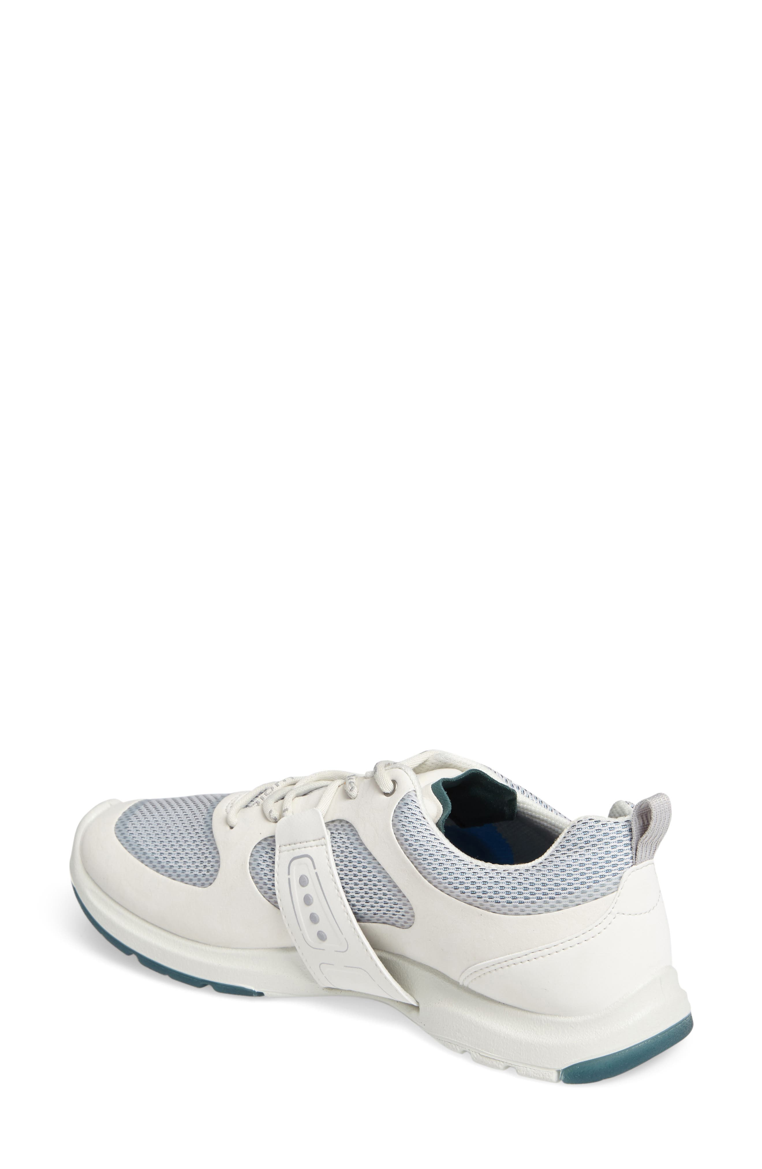 BIOM Amrap Sneaker,                             Alternate thumbnail 2, color,                             SHADOW WHITE LEATHER