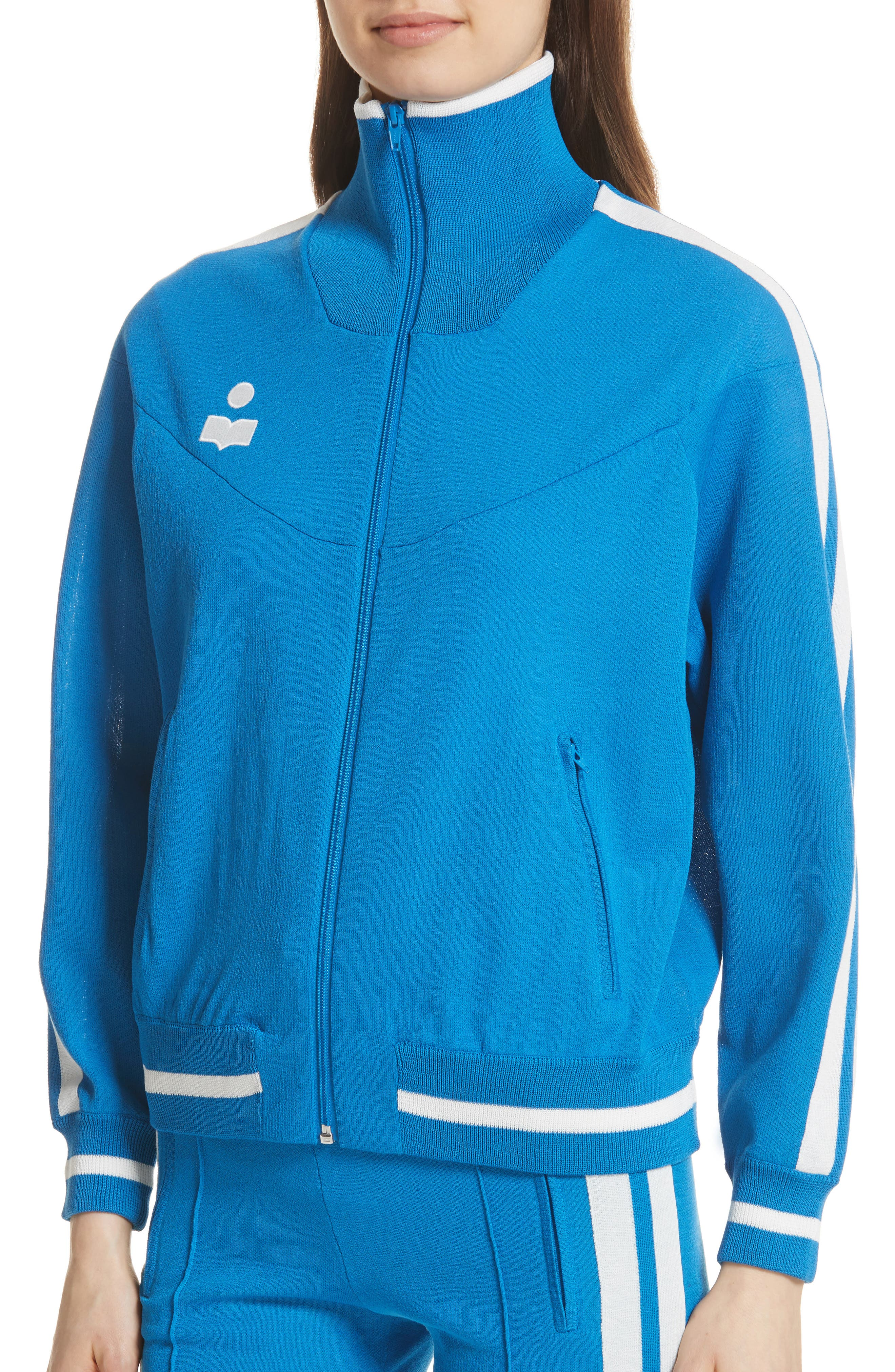 Darcy Track Jacket,                             Alternate thumbnail 4, color,                             400