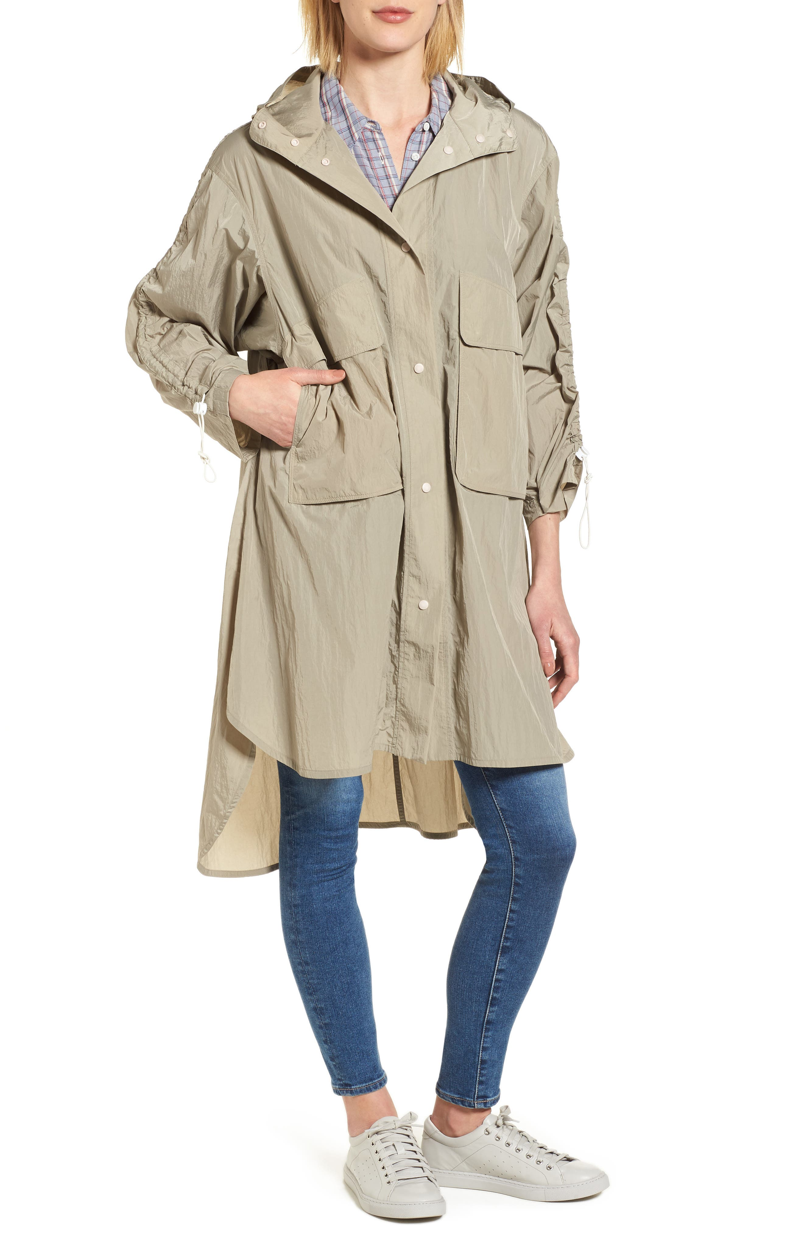 Florence Hooded Jacket,                             Alternate thumbnail 8, color,