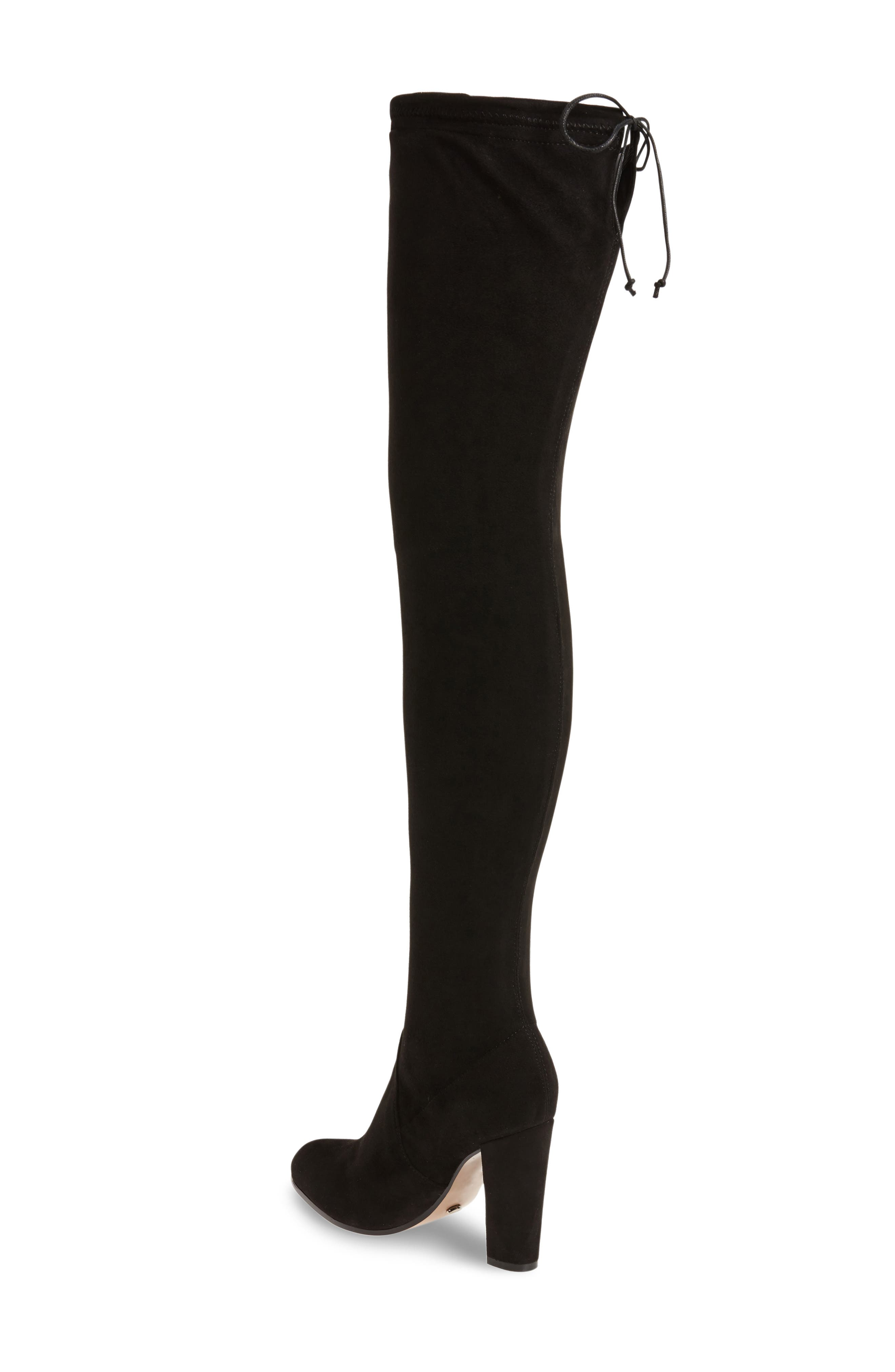 Tash Over the Knee Stretch Boot,                             Alternate thumbnail 2, color,                             001