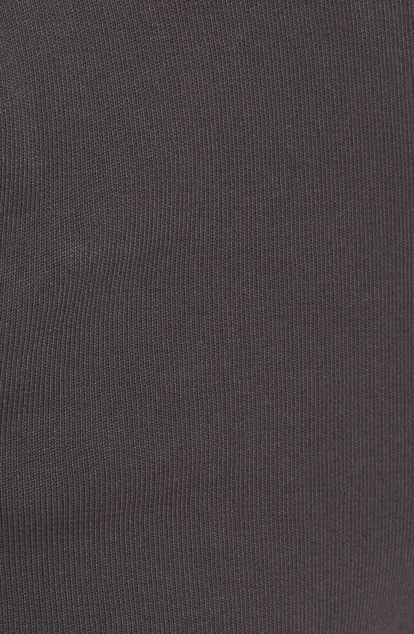 Crop Sweatpants,                             Alternate thumbnail 6, color,                             CARBON