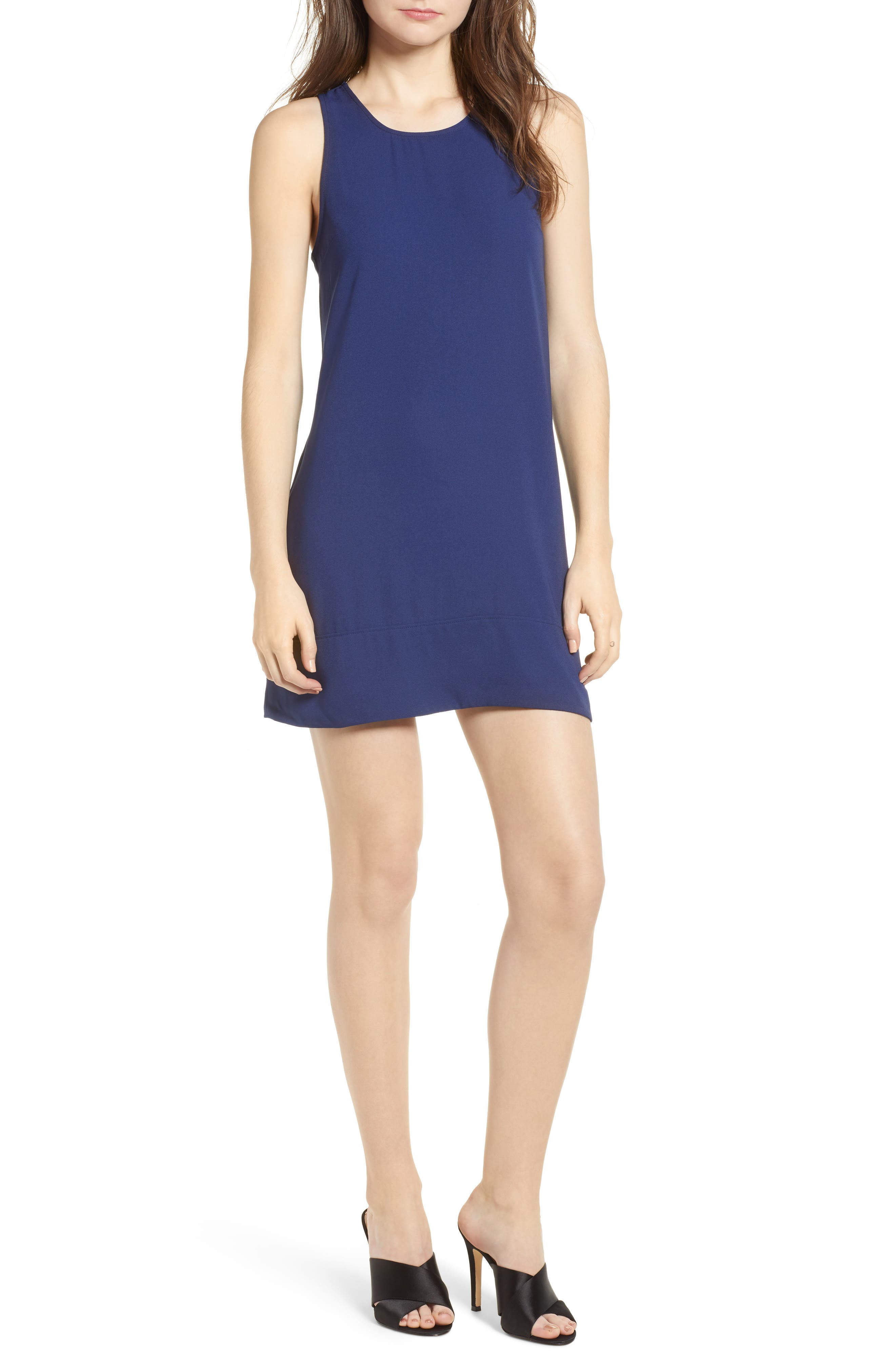 Racerback Shift Dress,                             Alternate thumbnail 50, color,