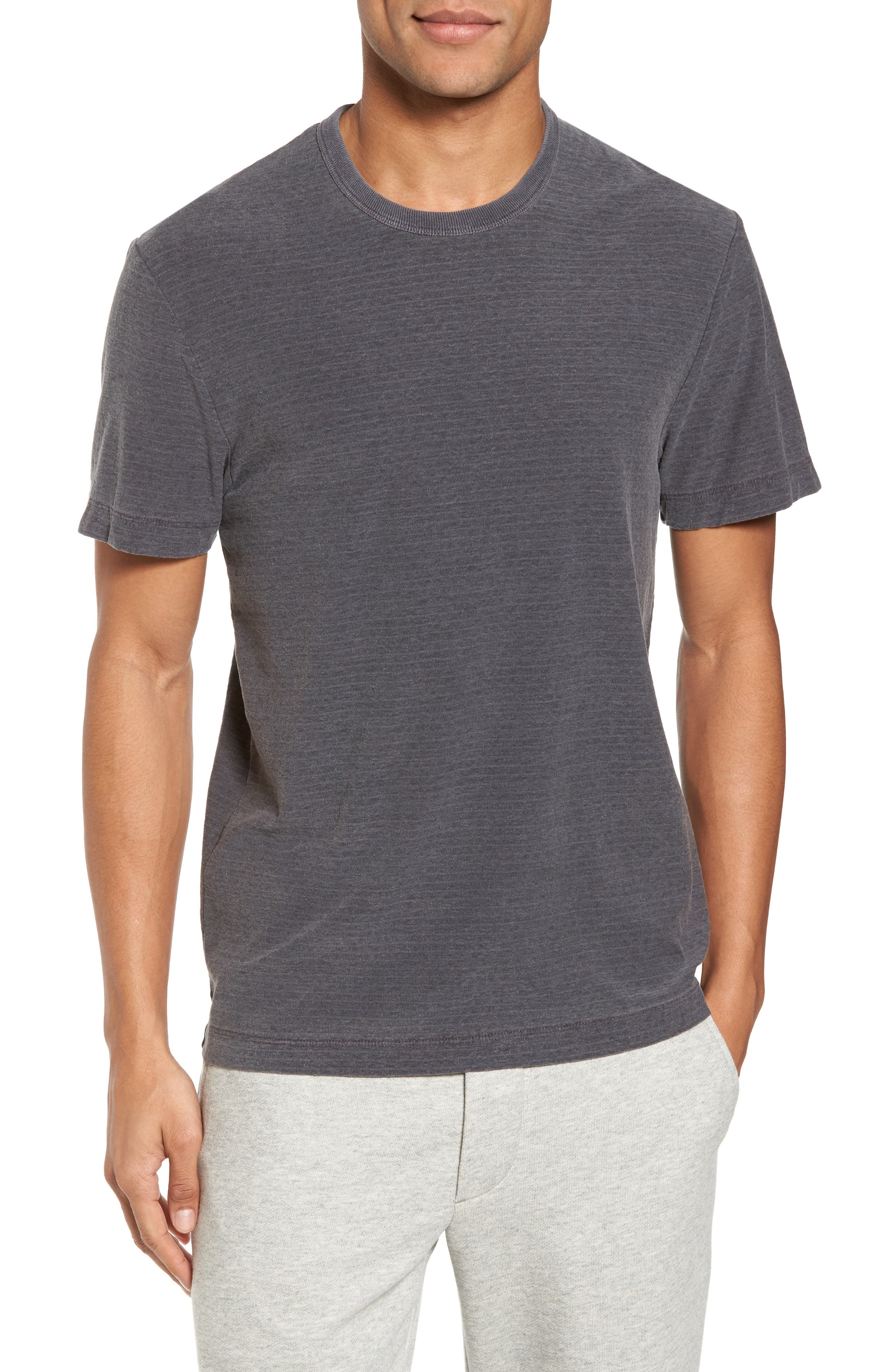 Microstripe Ringer T-Shirt,                             Main thumbnail 1, color,                             020