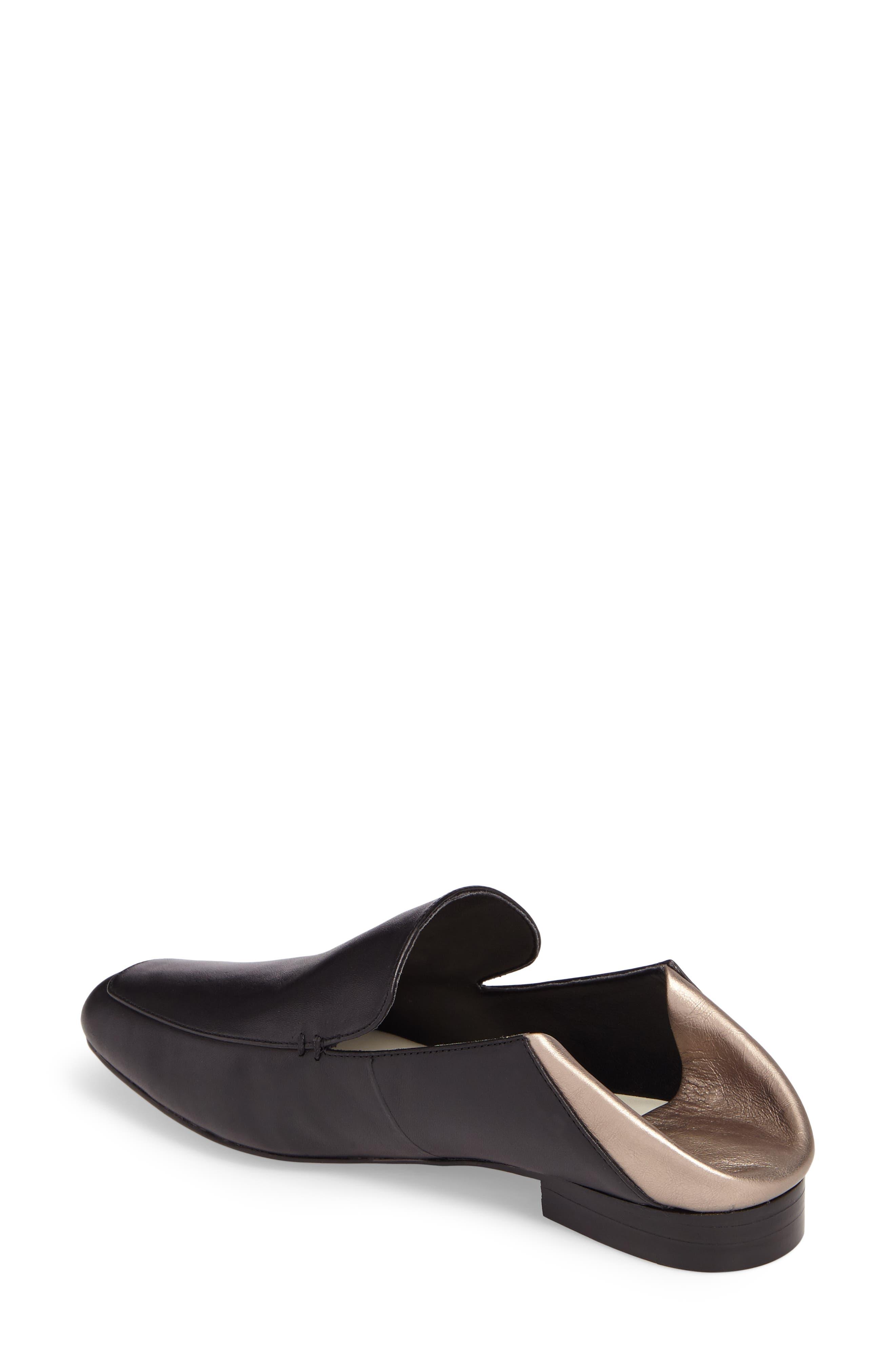 Faun Drop Heel Loafer,                             Alternate thumbnail 3, color,                             003
