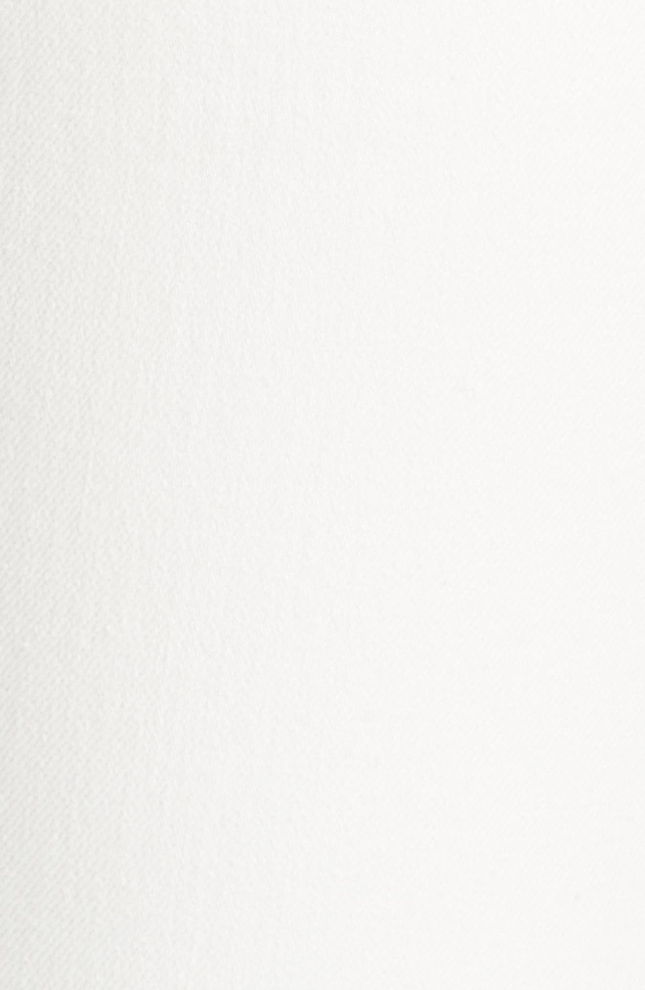 White Denim Jeans,                             Alternate thumbnail 5, color,                             100