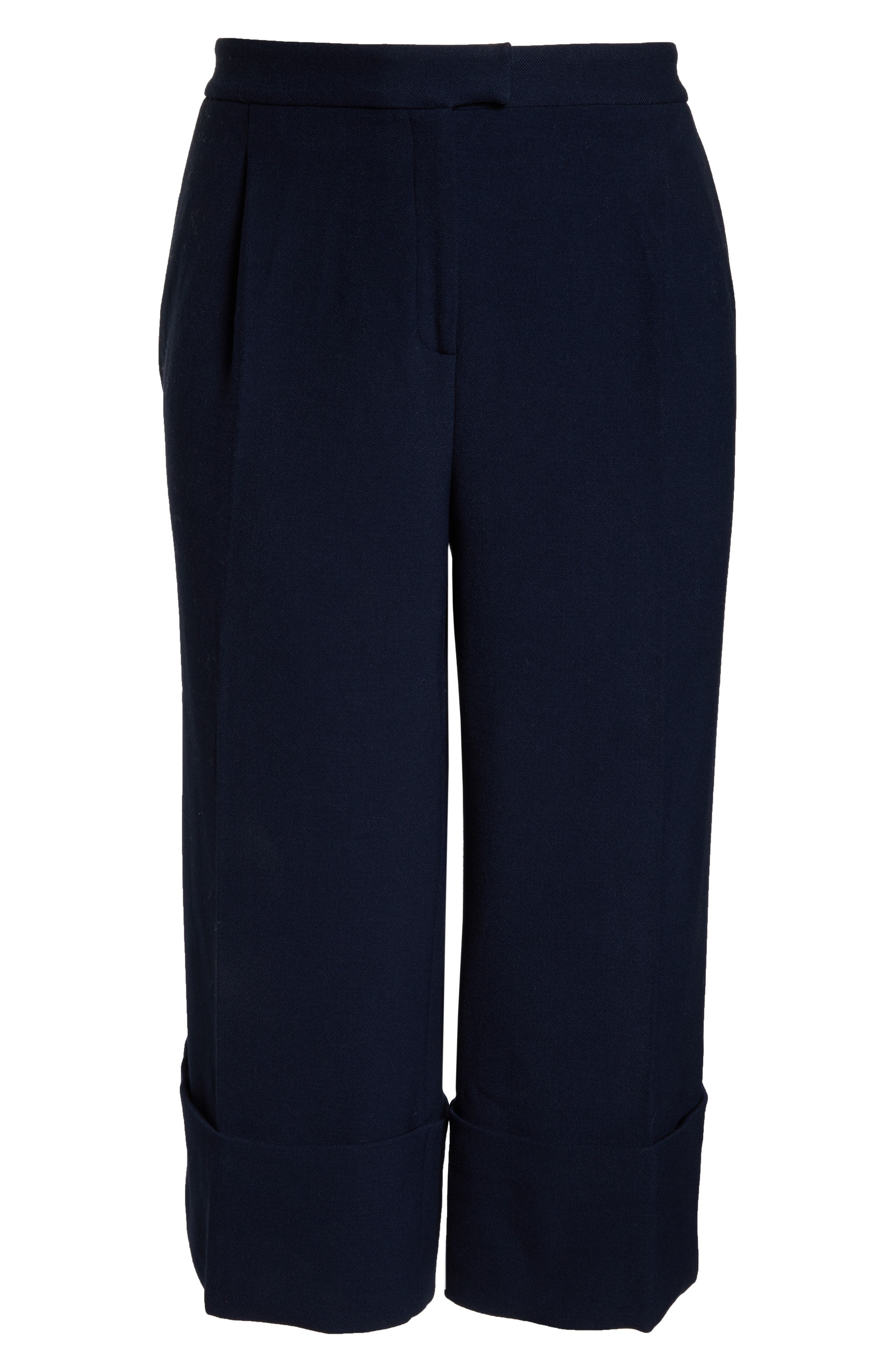 HALOGEN<SUP>®</SUP>,                             x Atlantic-Pacific High Waist Wide Cuff Ankle Pants,                             Alternate thumbnail 6, color,                             410