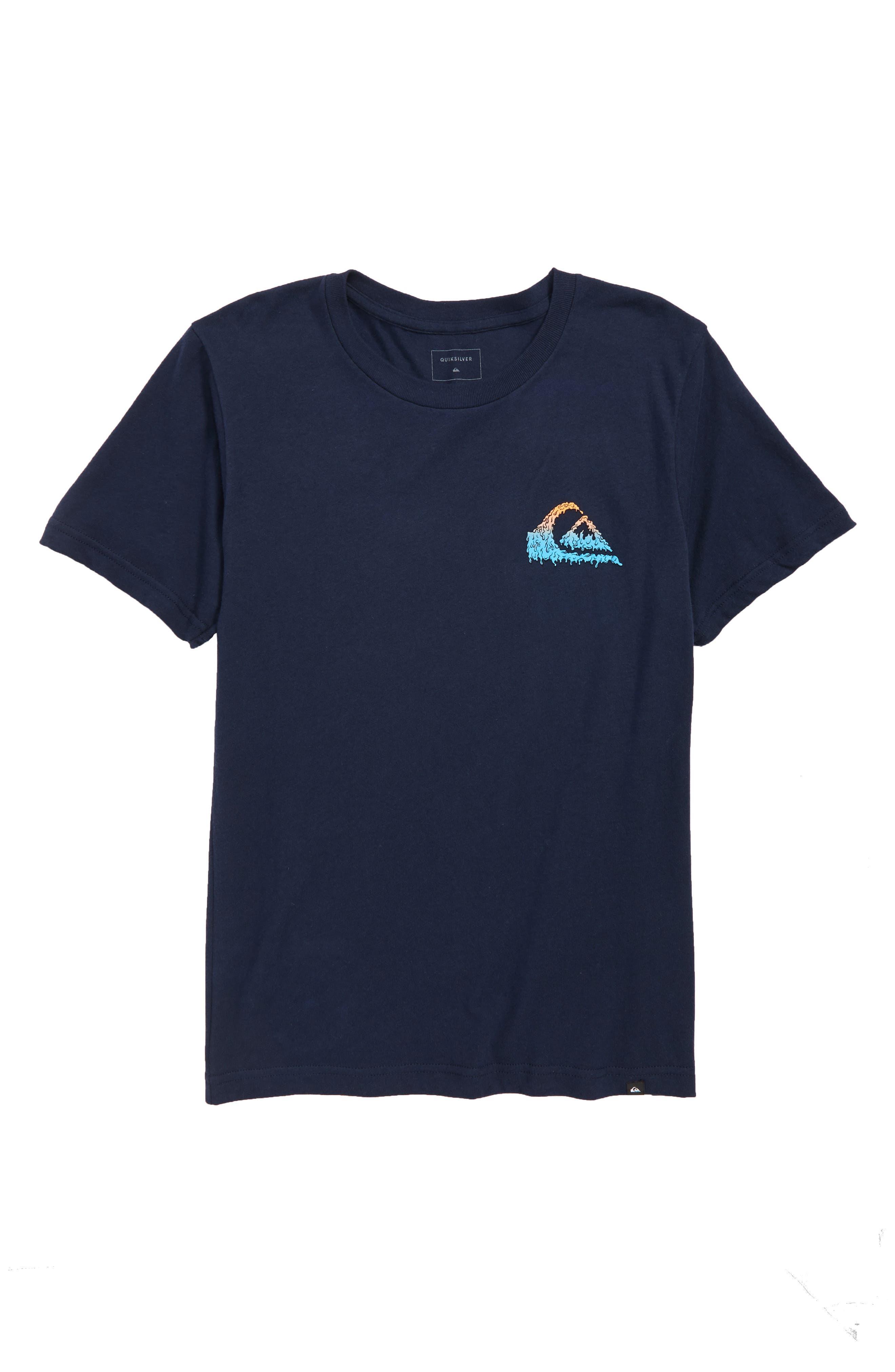 Quicksilver Gloss Varnish Short Sleeve T-Shirt,                             Main thumbnail 1, color,                             410