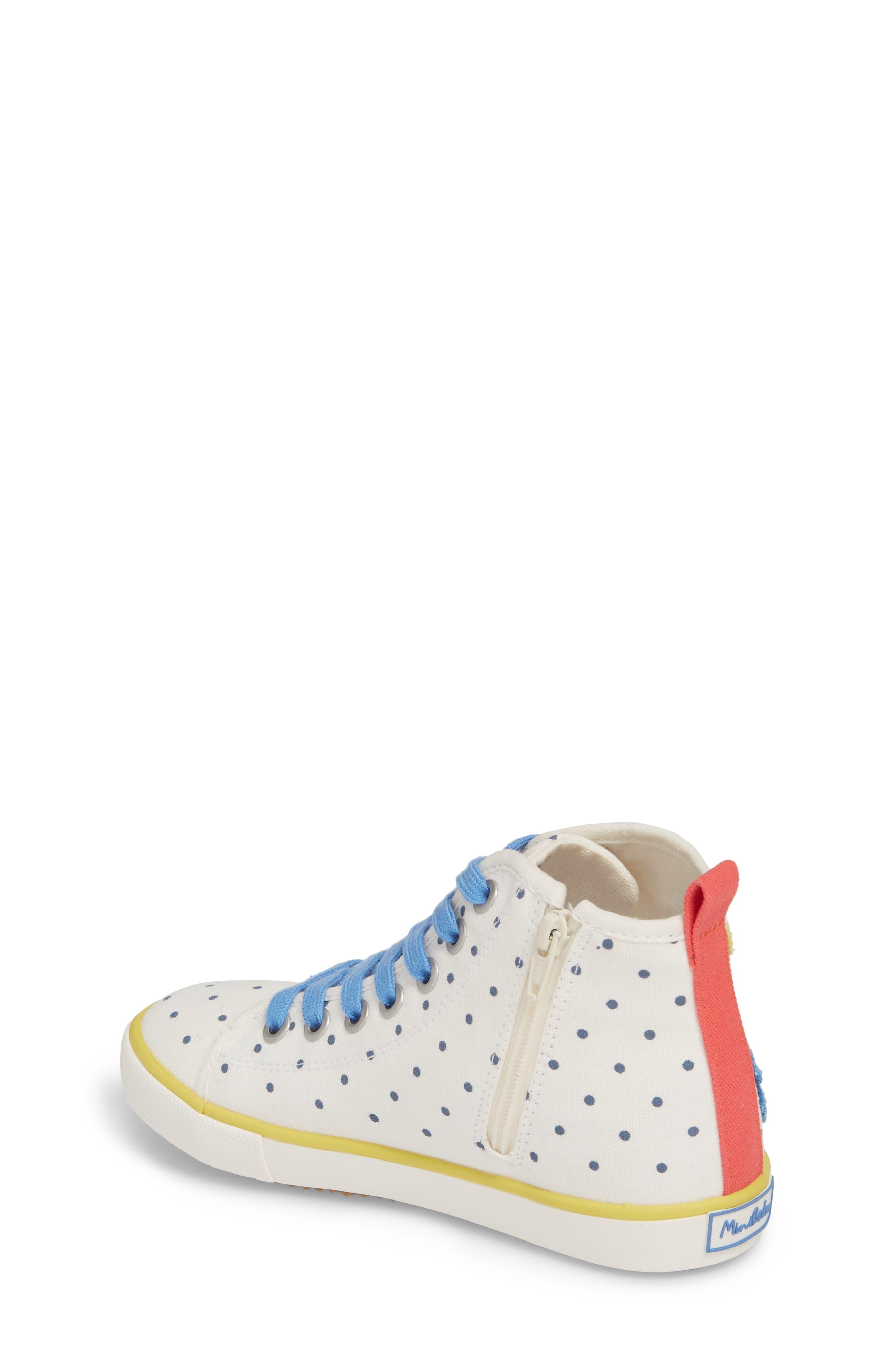Appliqué High Top Sneaker,                             Alternate thumbnail 2, color,                             254