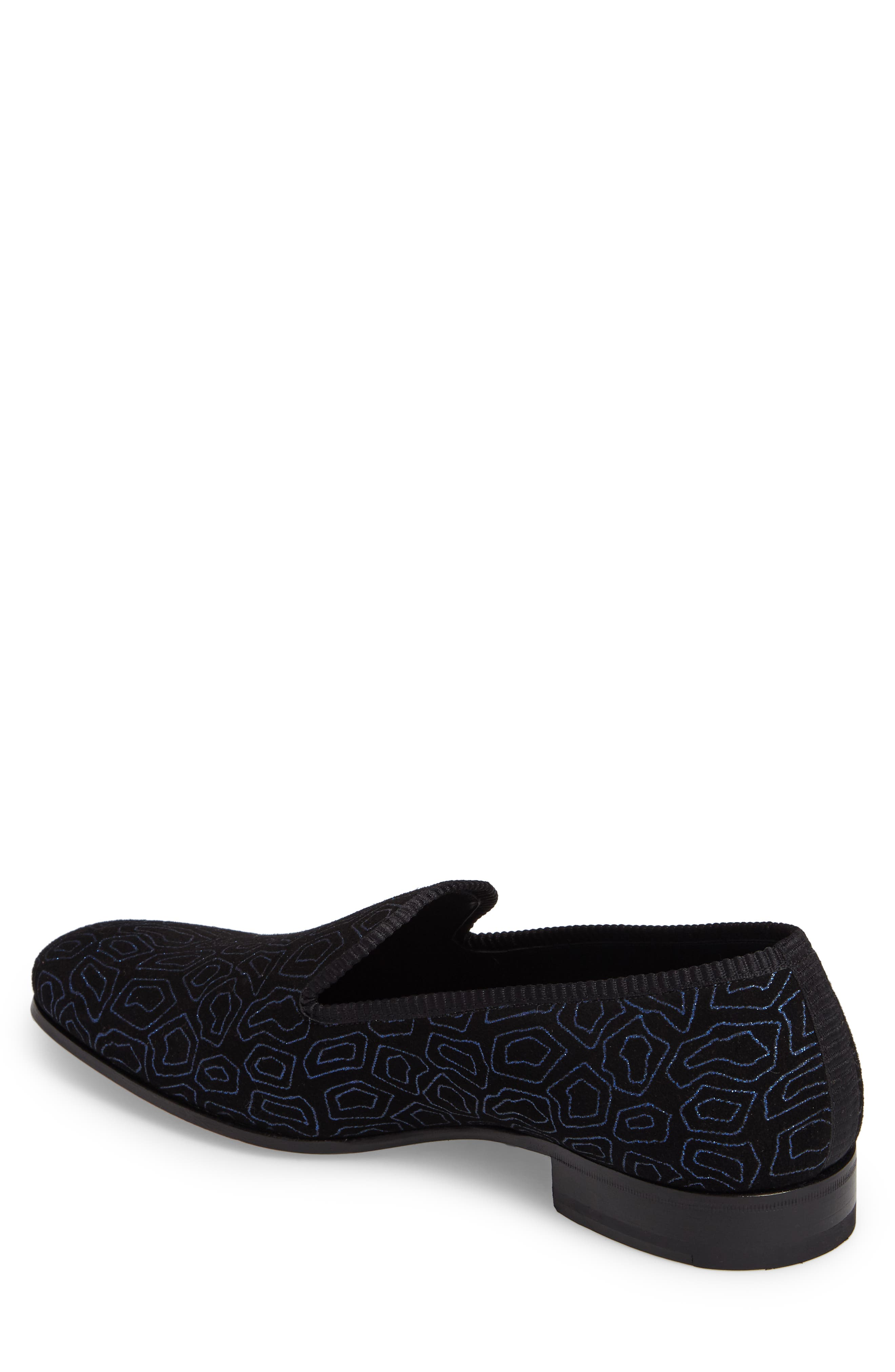 Camile Patterned Venetian Loafer,                             Alternate thumbnail 2, color,                             001