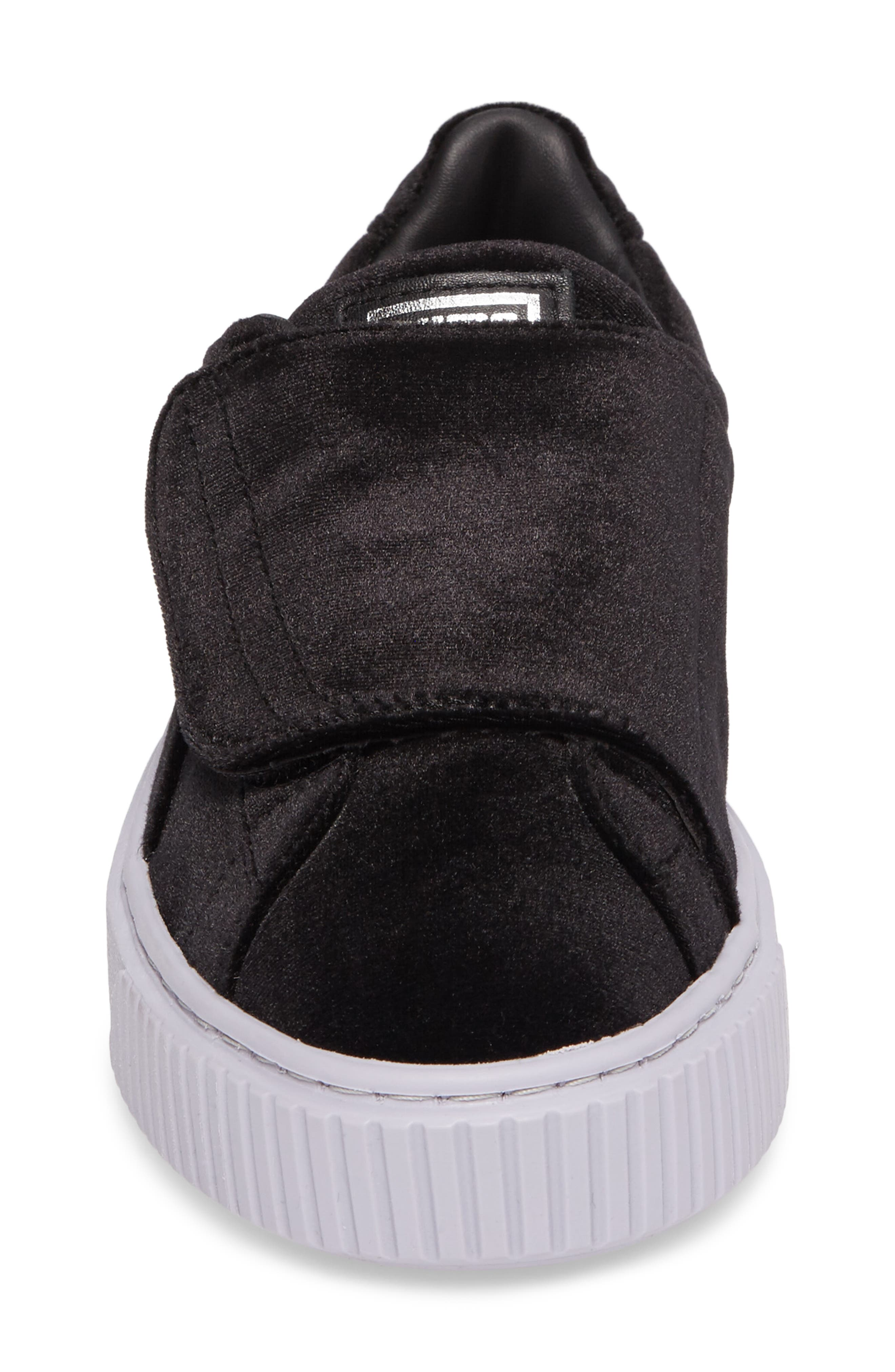 Basket Platform Sneaker,                             Alternate thumbnail 4, color,                             002