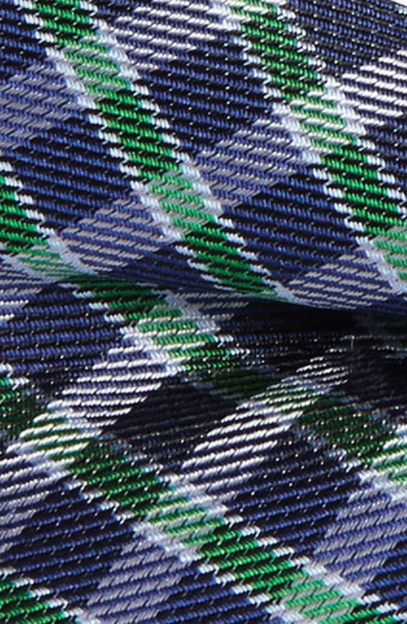 Plaid Silk Bow Tie,                             Alternate thumbnail 2, color,                             358