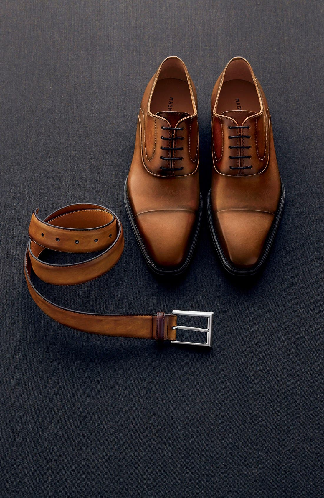 Catalux Leather Belt,                             Alternate thumbnail 4, color,                             230