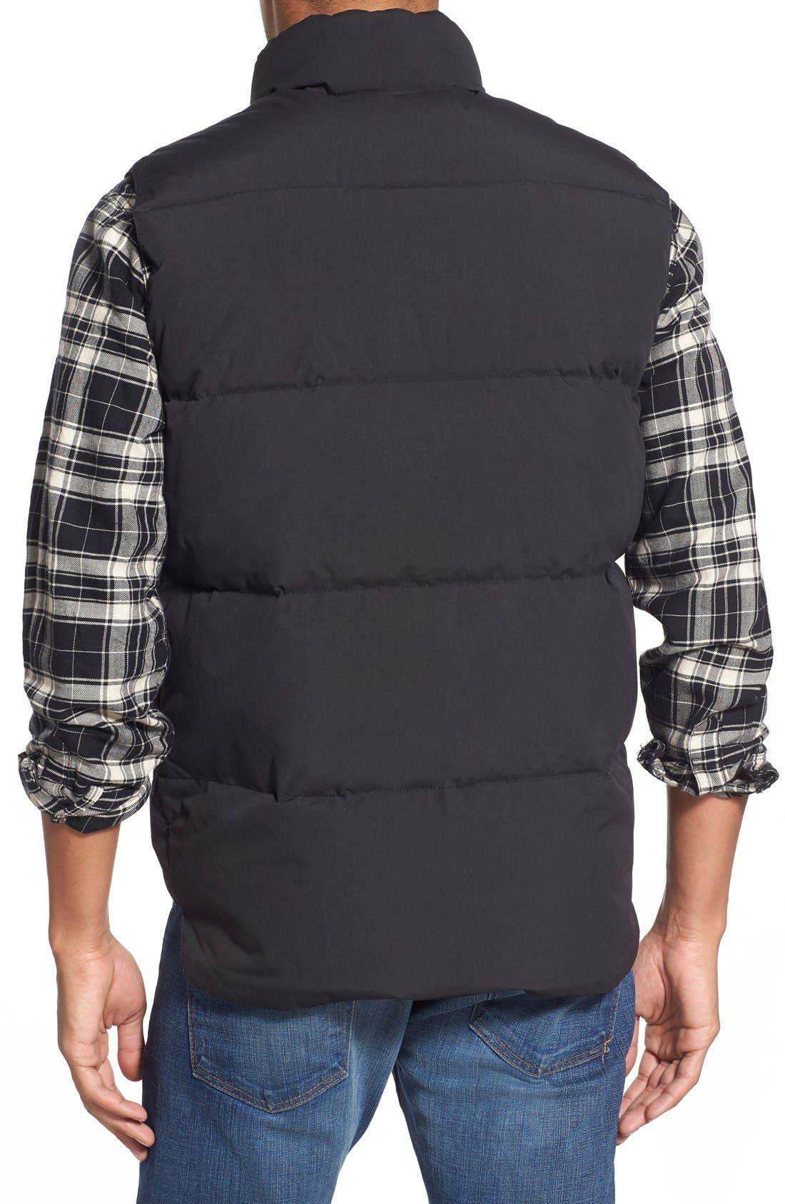 Waterproof Down Vest,                             Alternate thumbnail 3, color,                             001