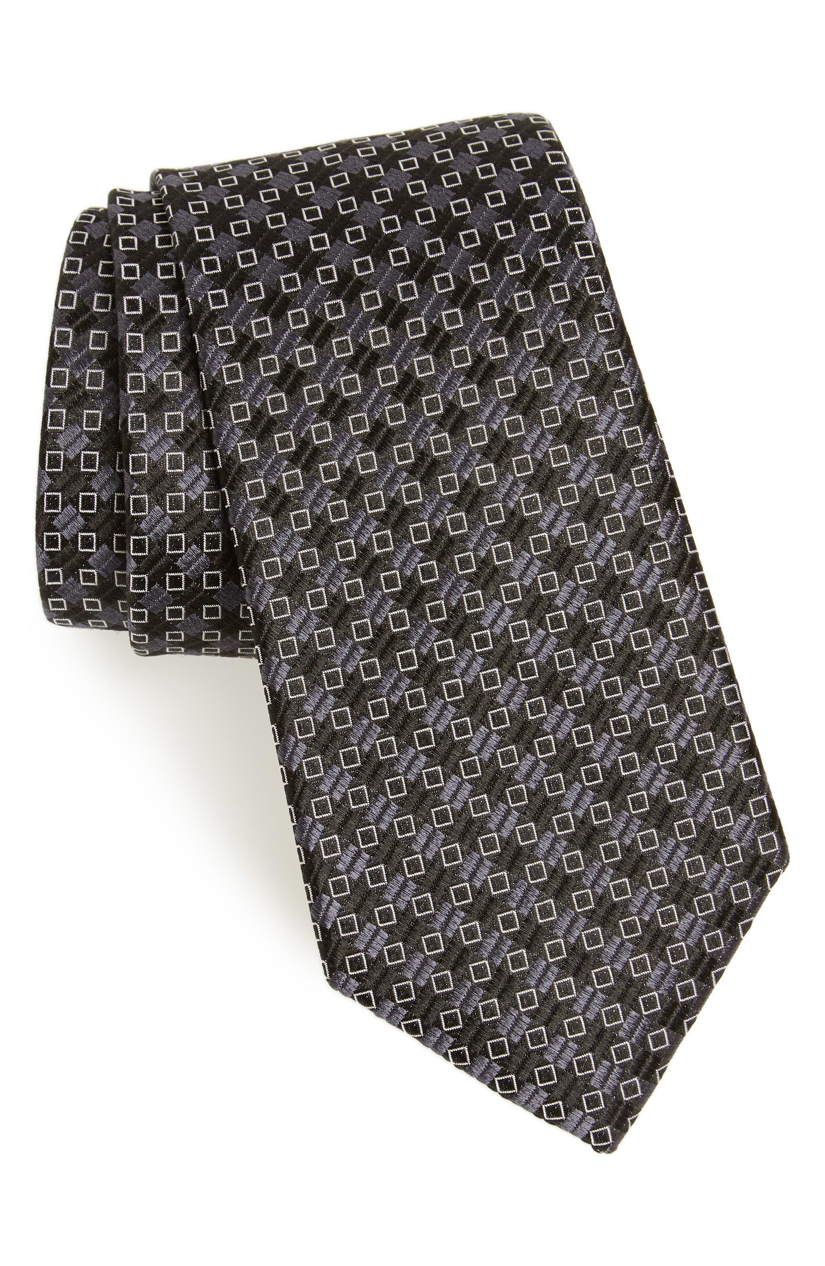 Middletown Geometric Silk Tie,                             Main thumbnail 1, color,