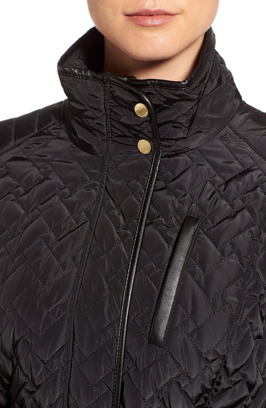 Belted Quilted Coat,                             Alternate thumbnail 10, color,
