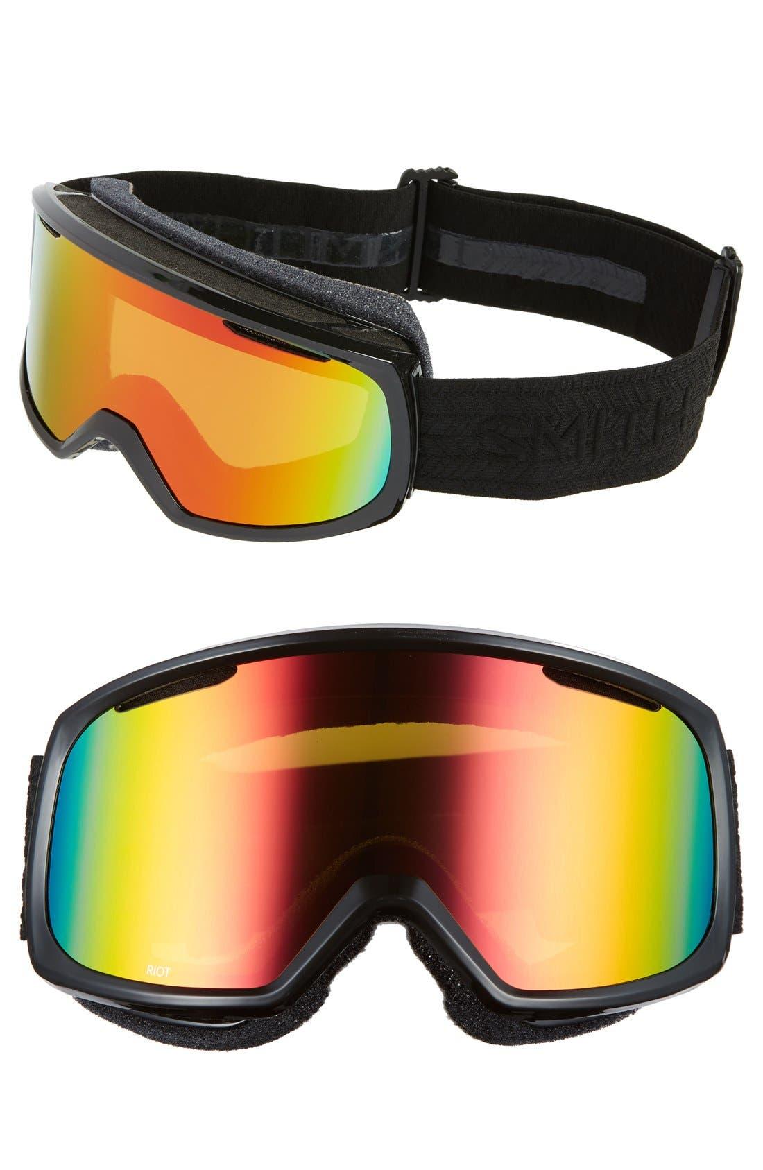 'Riot' Snow Goggles,                         Main,                         color, 001