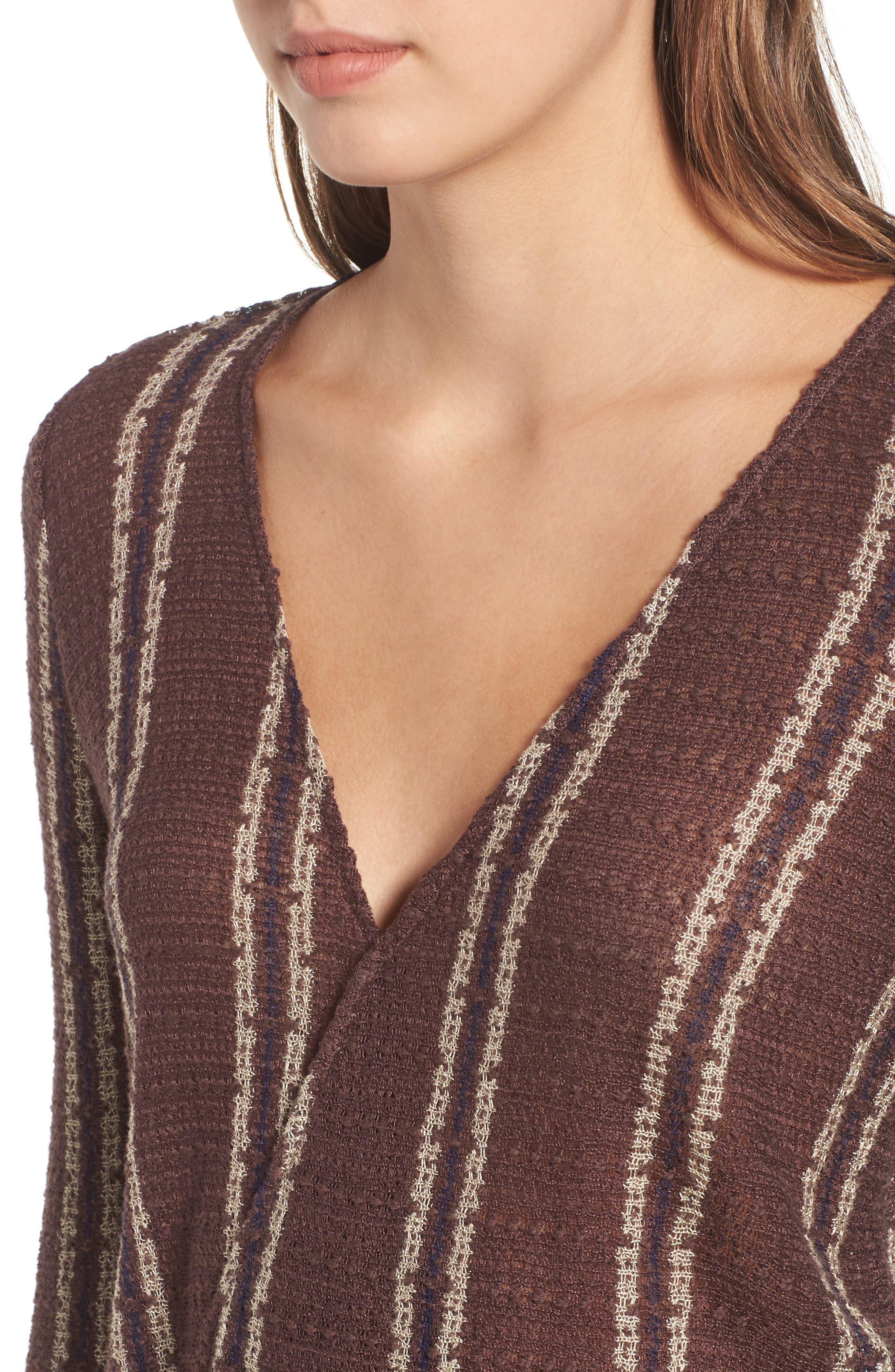Sims Stripe Sweater,                             Alternate thumbnail 9, color,