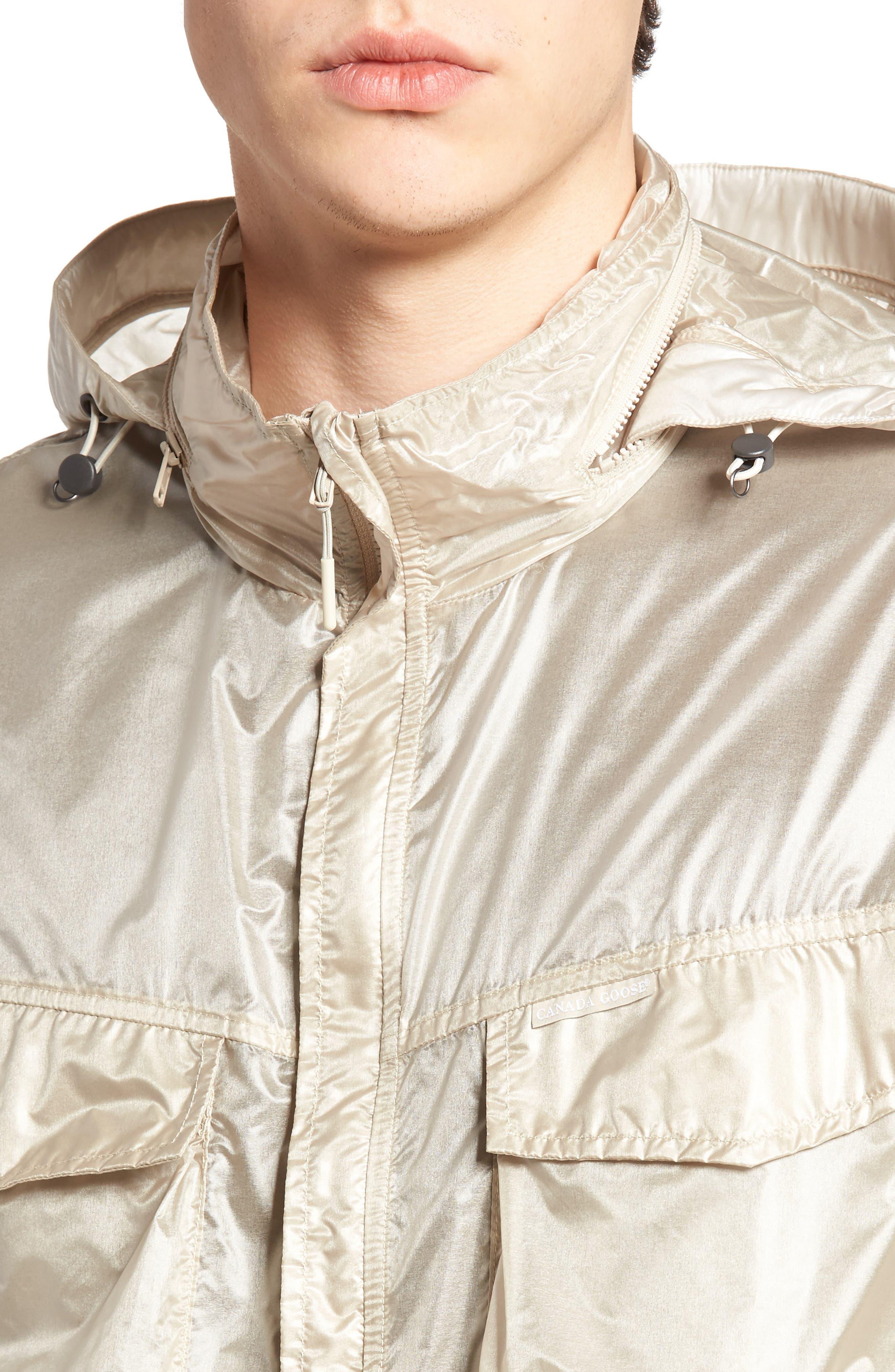 McKinnon Slim Fit Wind Jacket,                             Alternate thumbnail 4, color,                             SANDBANK