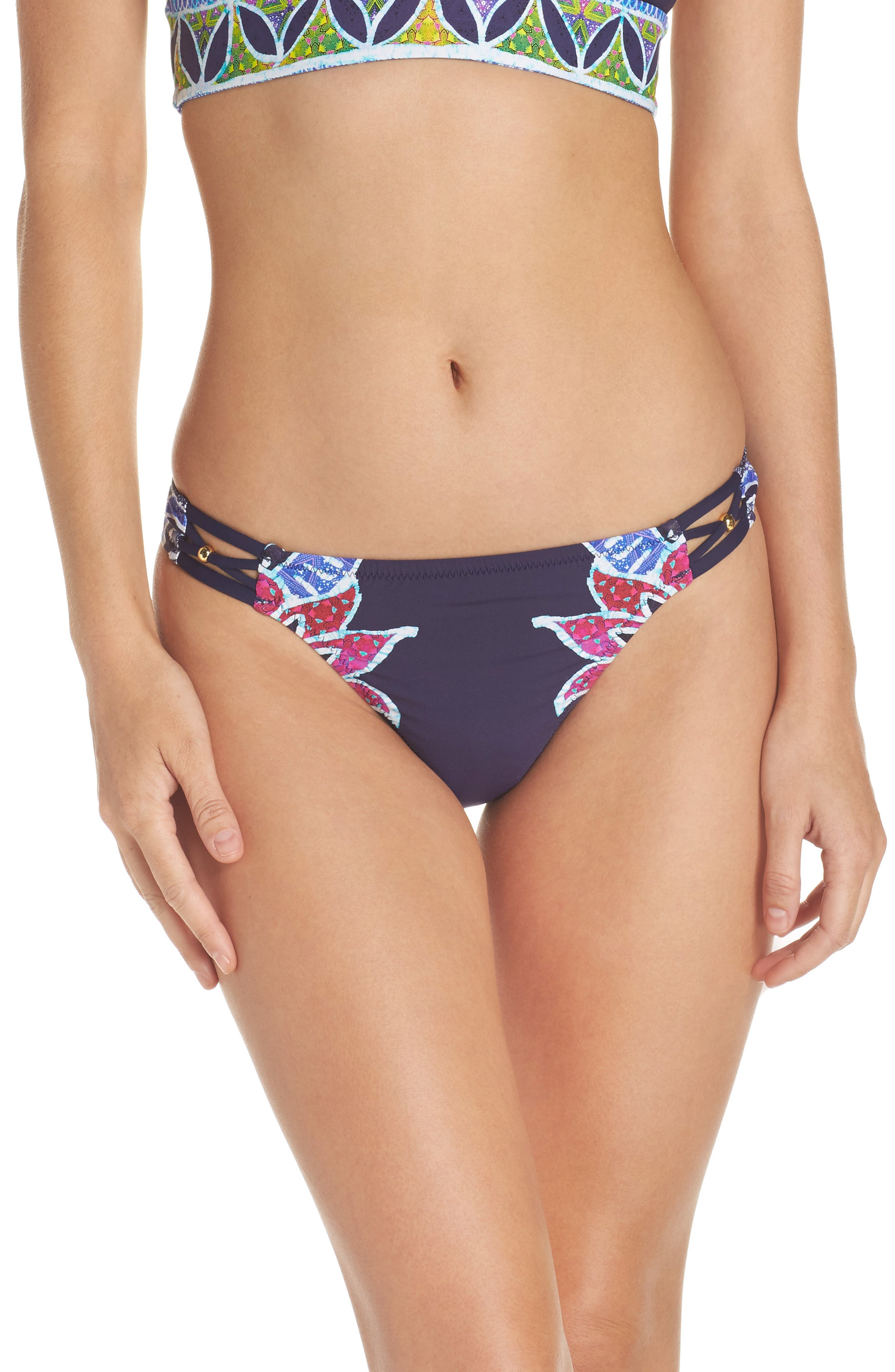 Lotus Bikini Bottoms,                         Main,                         color, 409