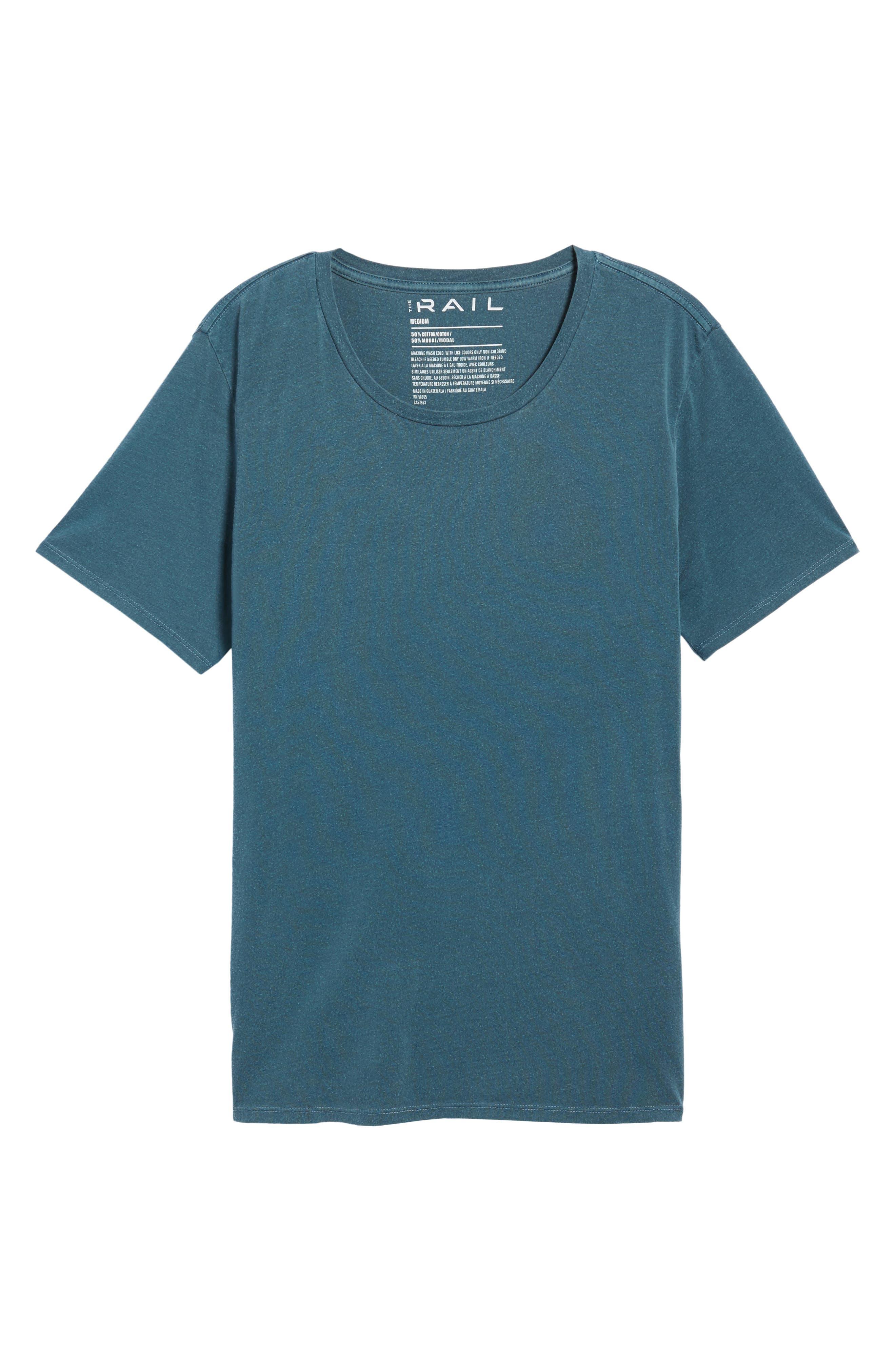 Slim Fit Scoop Neck T-Shirt,                             Alternate thumbnail 6, color,                             449