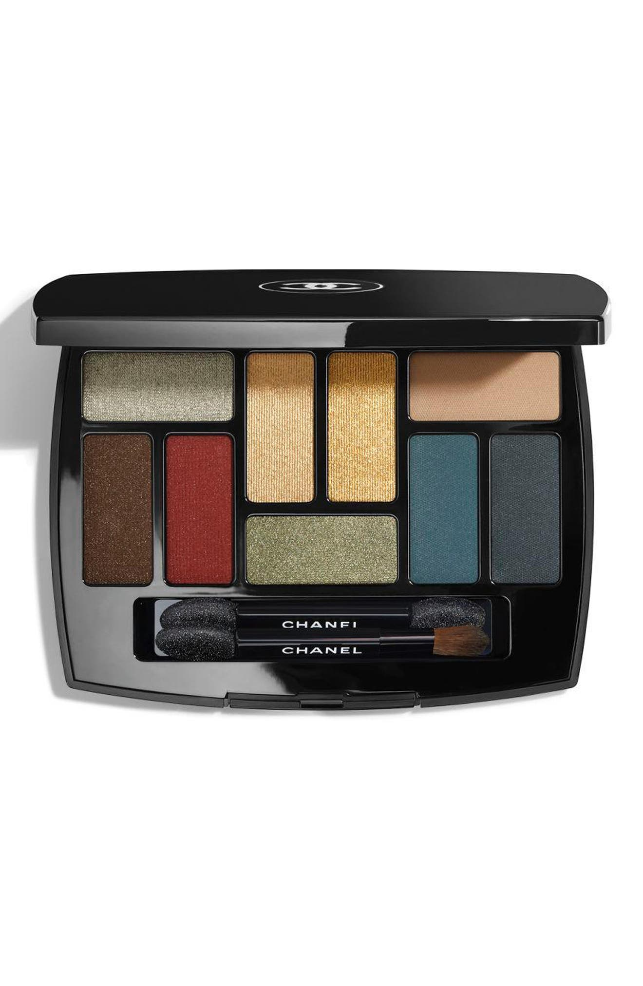 CHANEL,                             LES 9 OMBRES<br />Multi-Effect Eyeshadow Palette,                             Main thumbnail 1, color,                             QUINTESSENCE