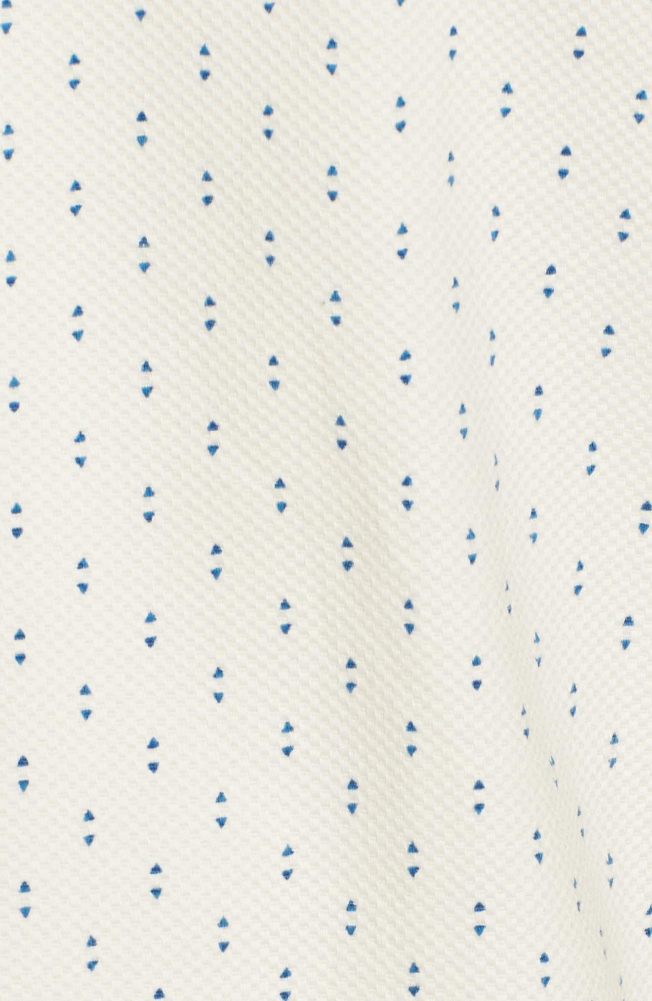 TED BAKER LONDON,                             Franko Print Sport Shirt,                             Alternate thumbnail 5, color,                             100