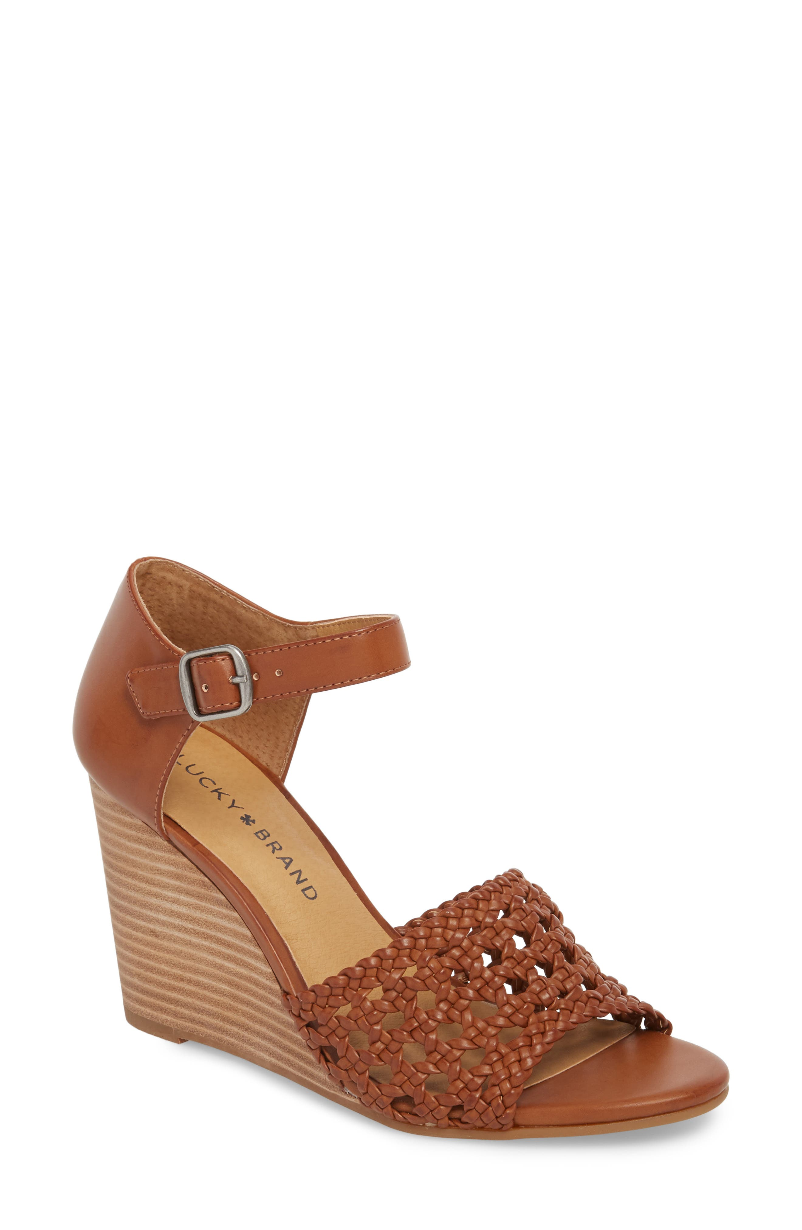 Rabekka Wedge Sandal,                             Main thumbnail 2, color,