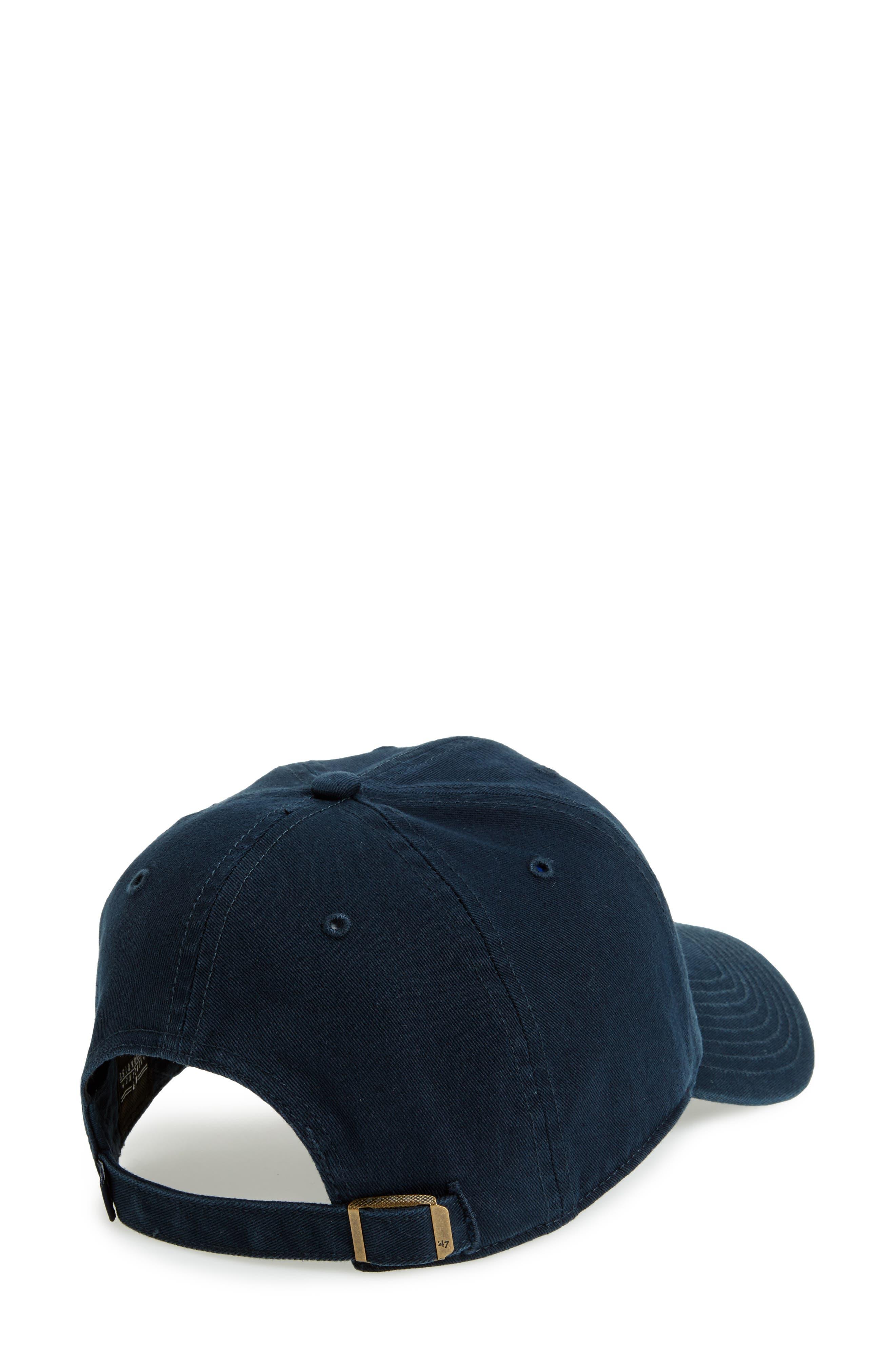 Clean Up NY Yankees Baseball Cap,                             Alternate thumbnail 2, color,                             410