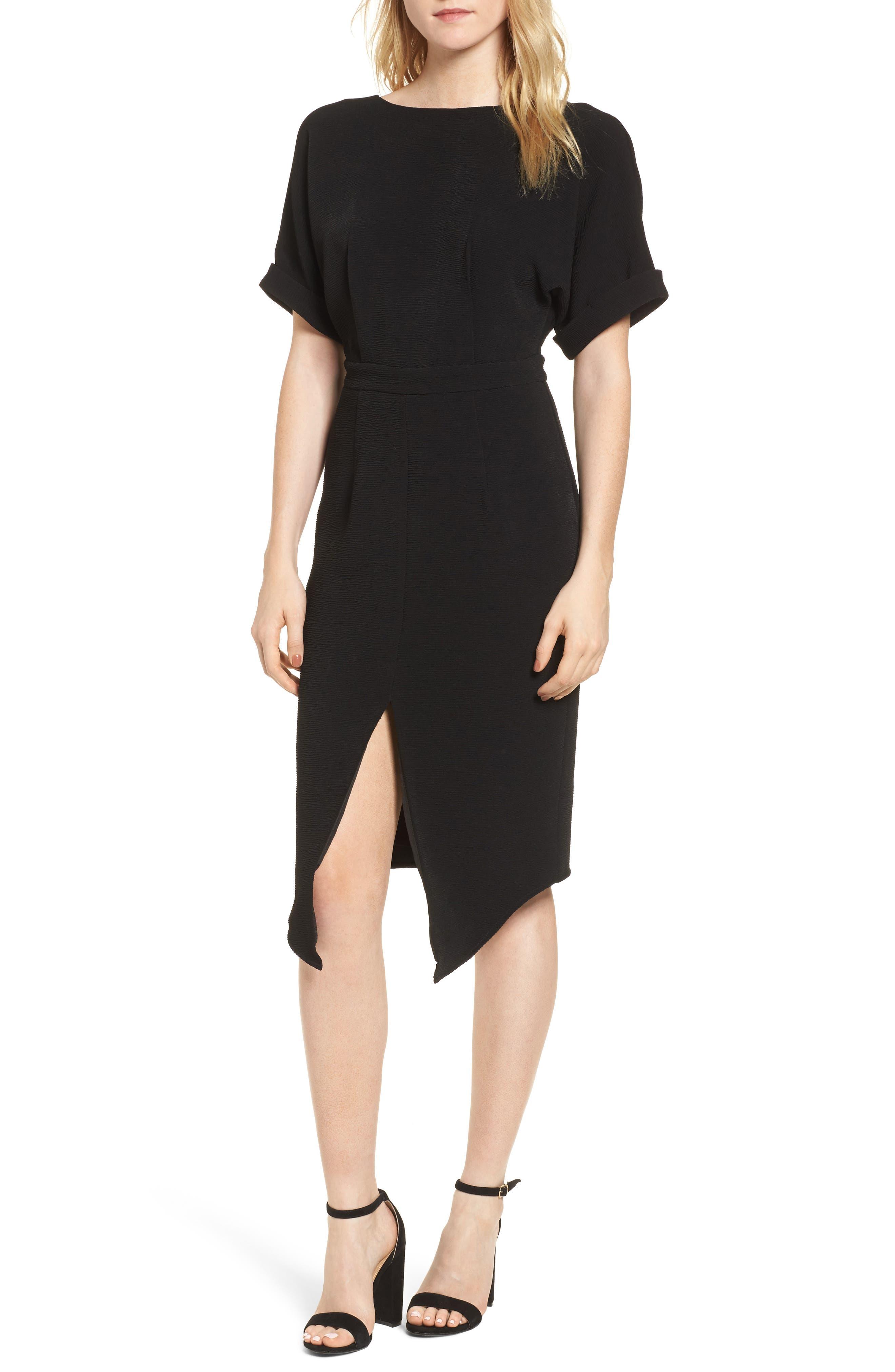 Barre Dress,                             Main thumbnail 1, color,                             001
