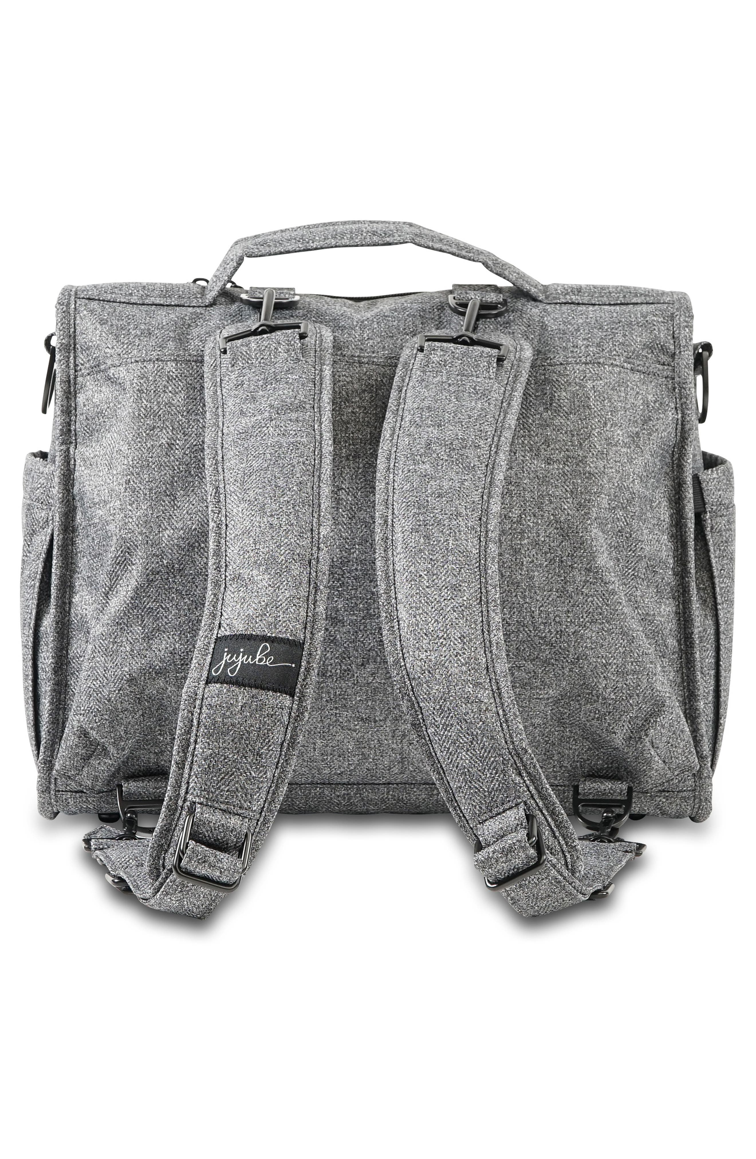 'BFF - Onyx Collection' Diaper Bag,                             Alternate thumbnail 2, color,                             GRAY MATTER