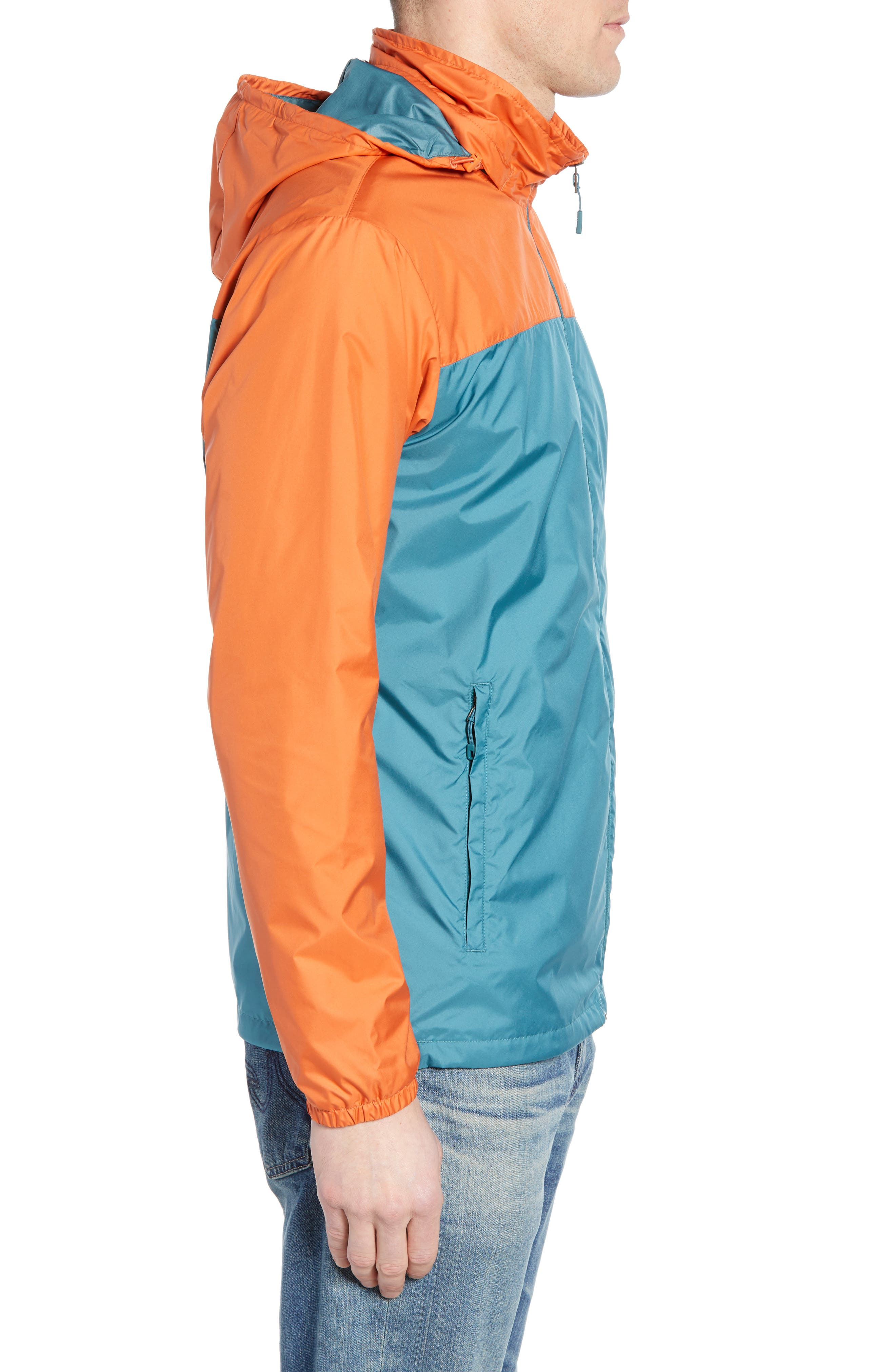Light & Variable<sup>™</sup> Wind & Water Resistant Hooded Jacket,                             Alternate thumbnail 3, color,                             440