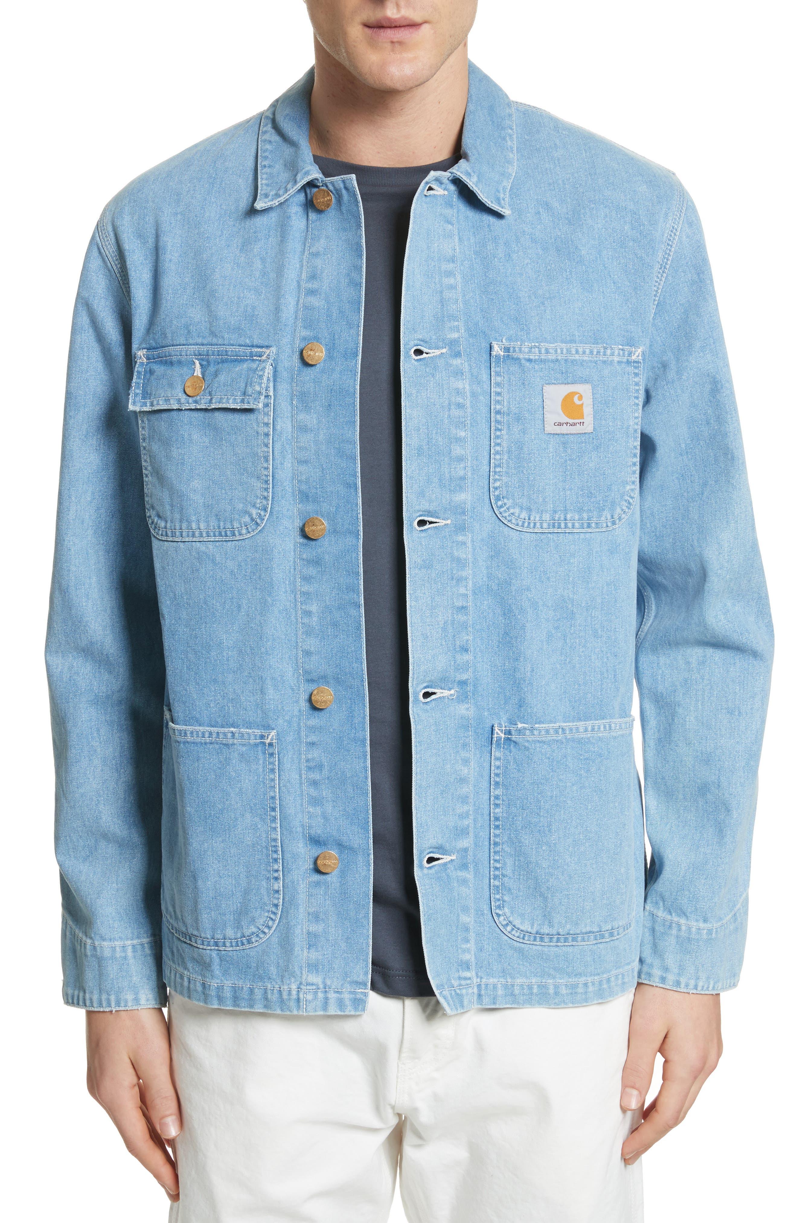 Michigan Norco Denim Chore Jacket,                             Main thumbnail 1, color,
