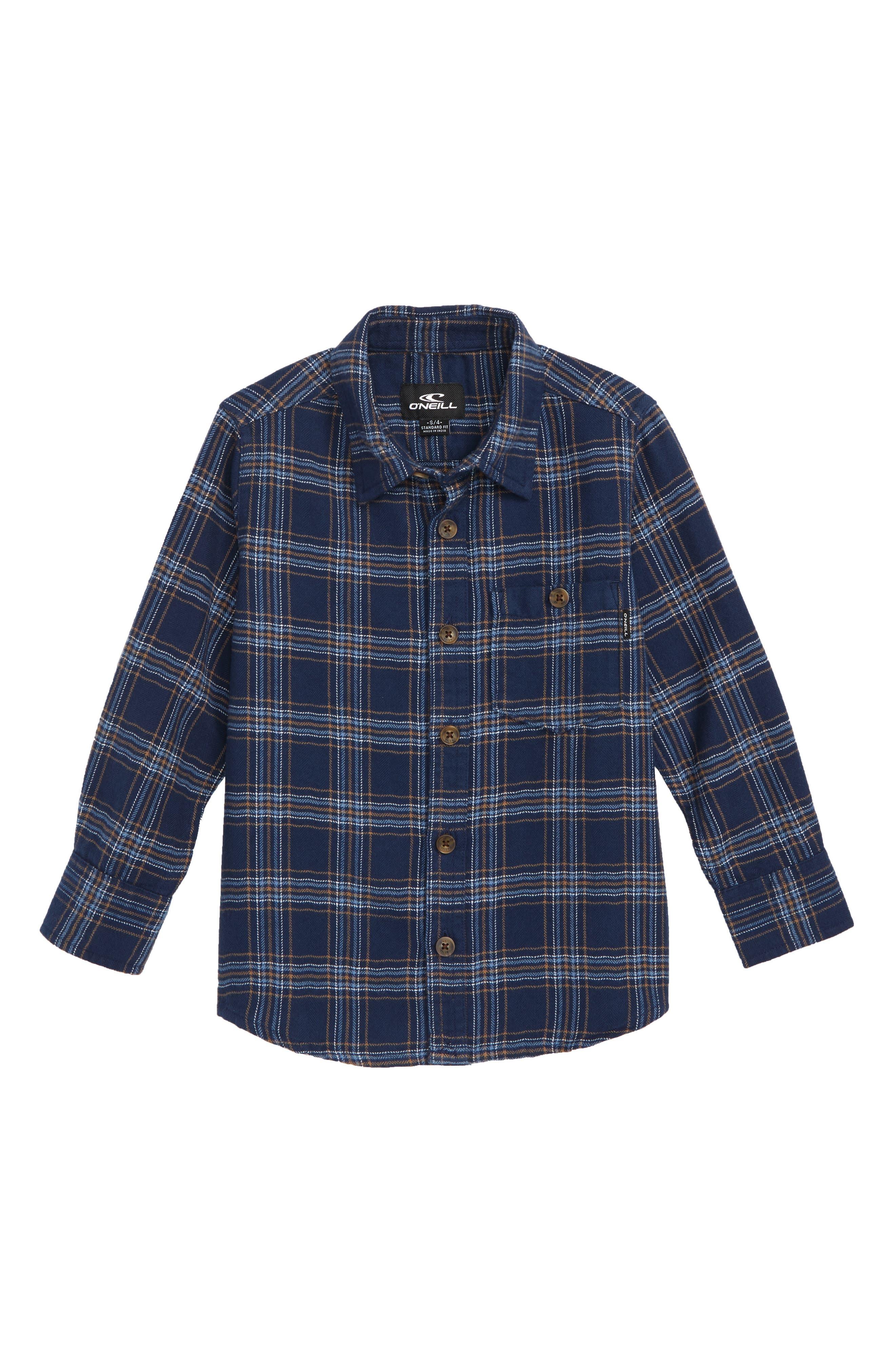 Redmond Flannel Shirt,                         Main,                         color, 410