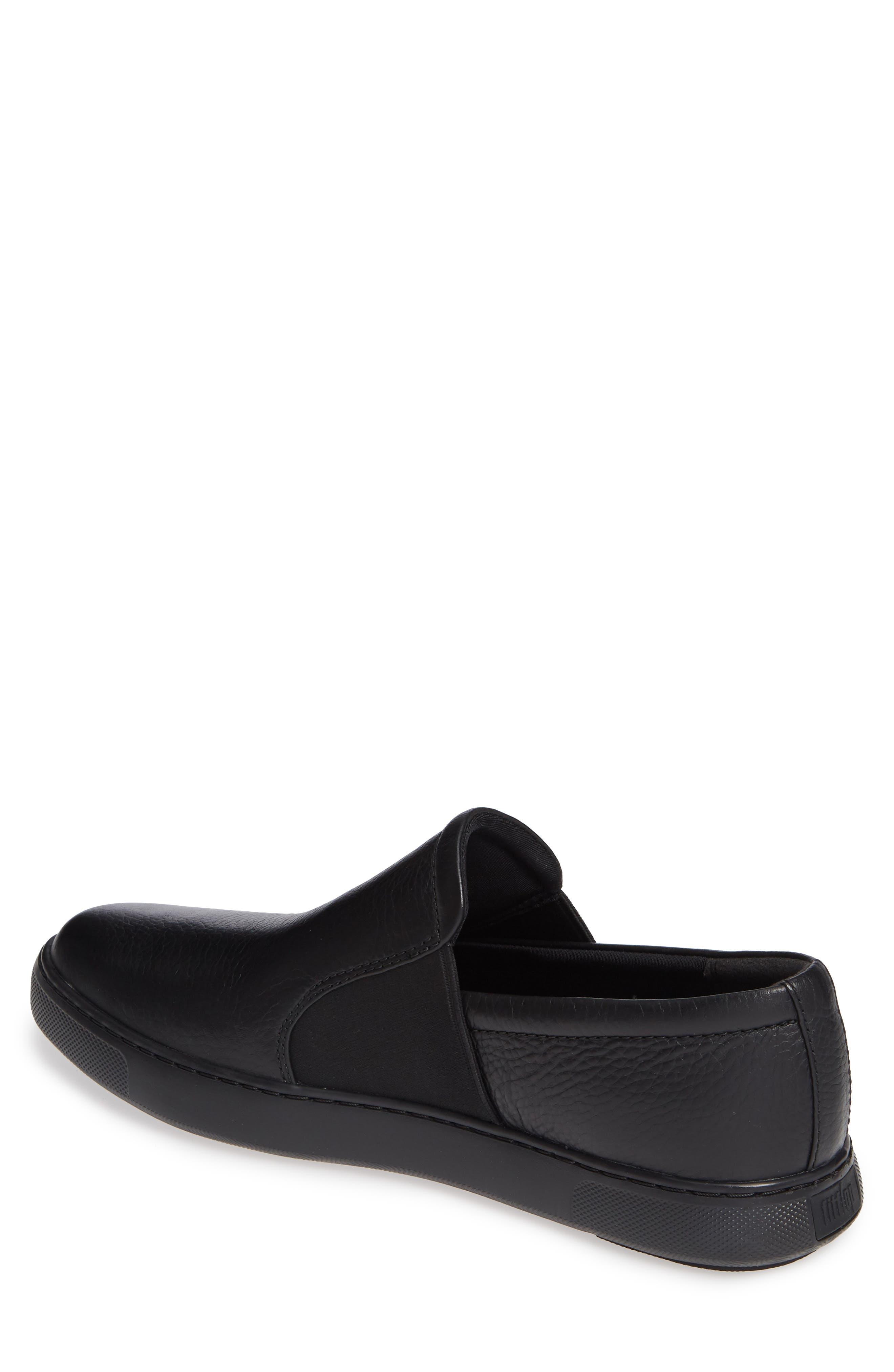 FITFLOP,                             Collins Slip-On Sneaker,                             Alternate thumbnail 2, color,                             BLACK