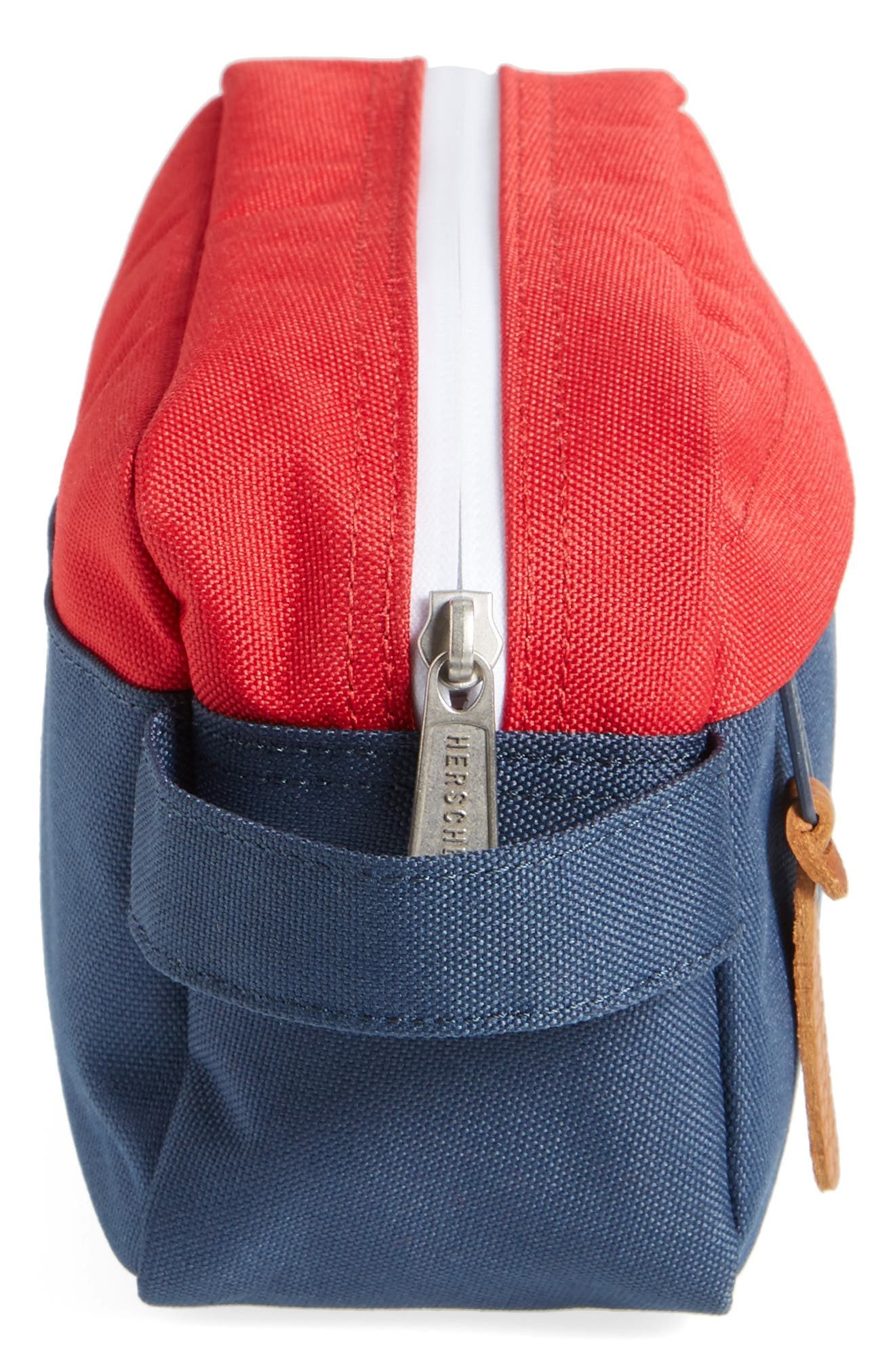 Chapter Carry-On Travel Kit,                             Alternate thumbnail 4, color,                             NAVY/ RED