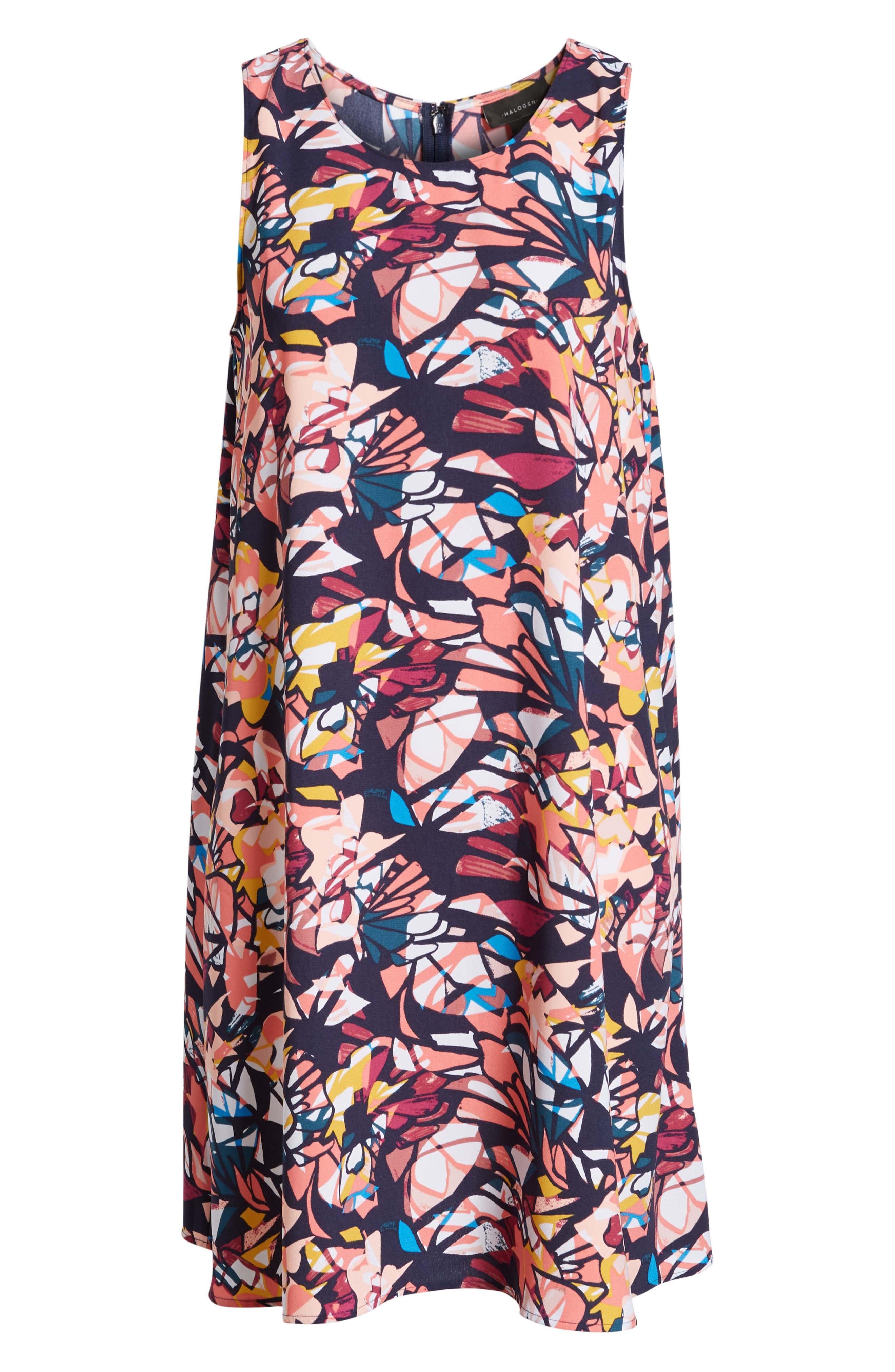 A-Line Dress,                             Alternate thumbnail 144, color,